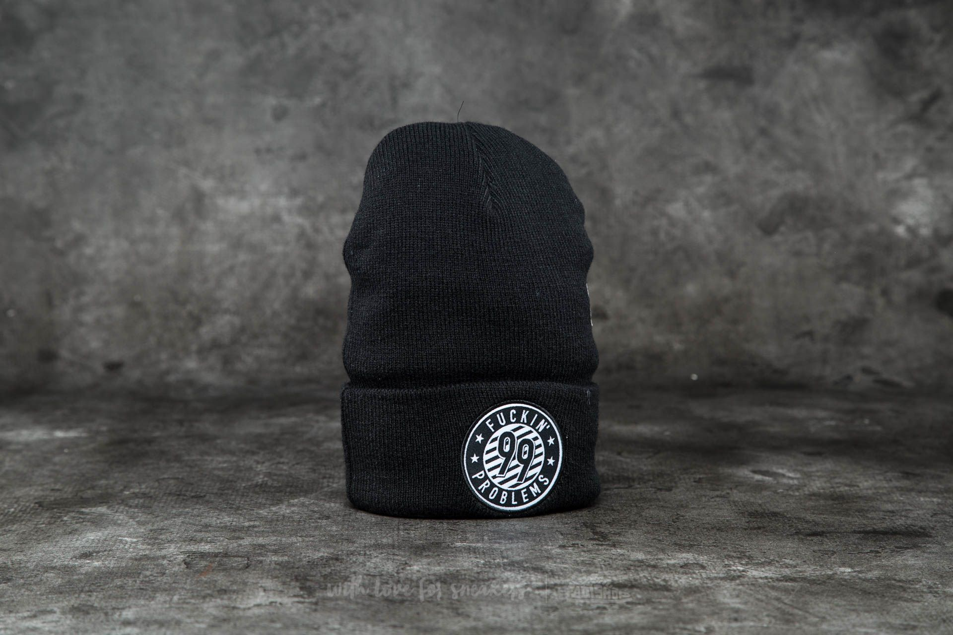 Cayler & Sons WL 99 FCKN Problems  Old School Beanie Black/ White Footshop – FR