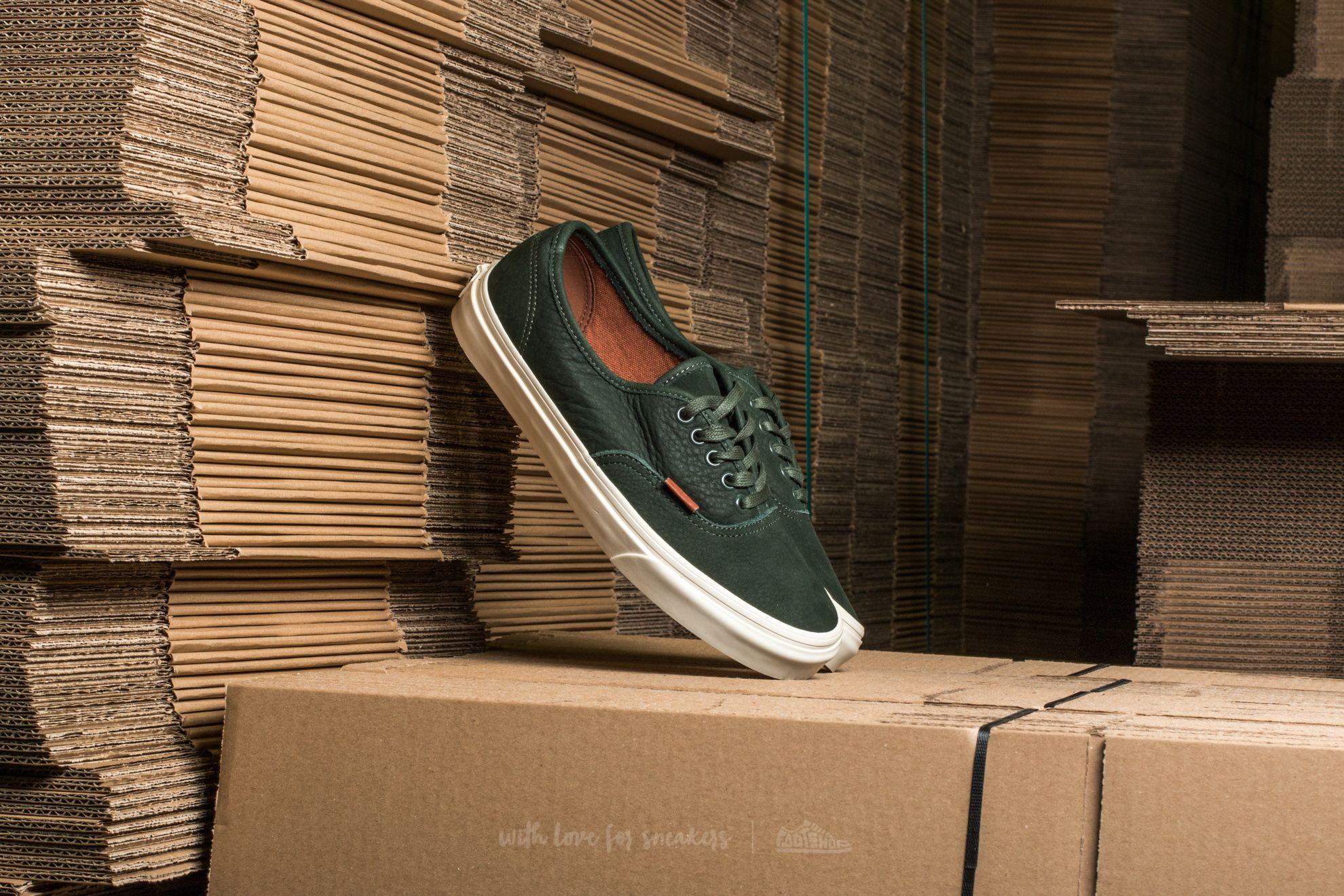 Vans Authnetic DX Premium Leather Dufflbag Green