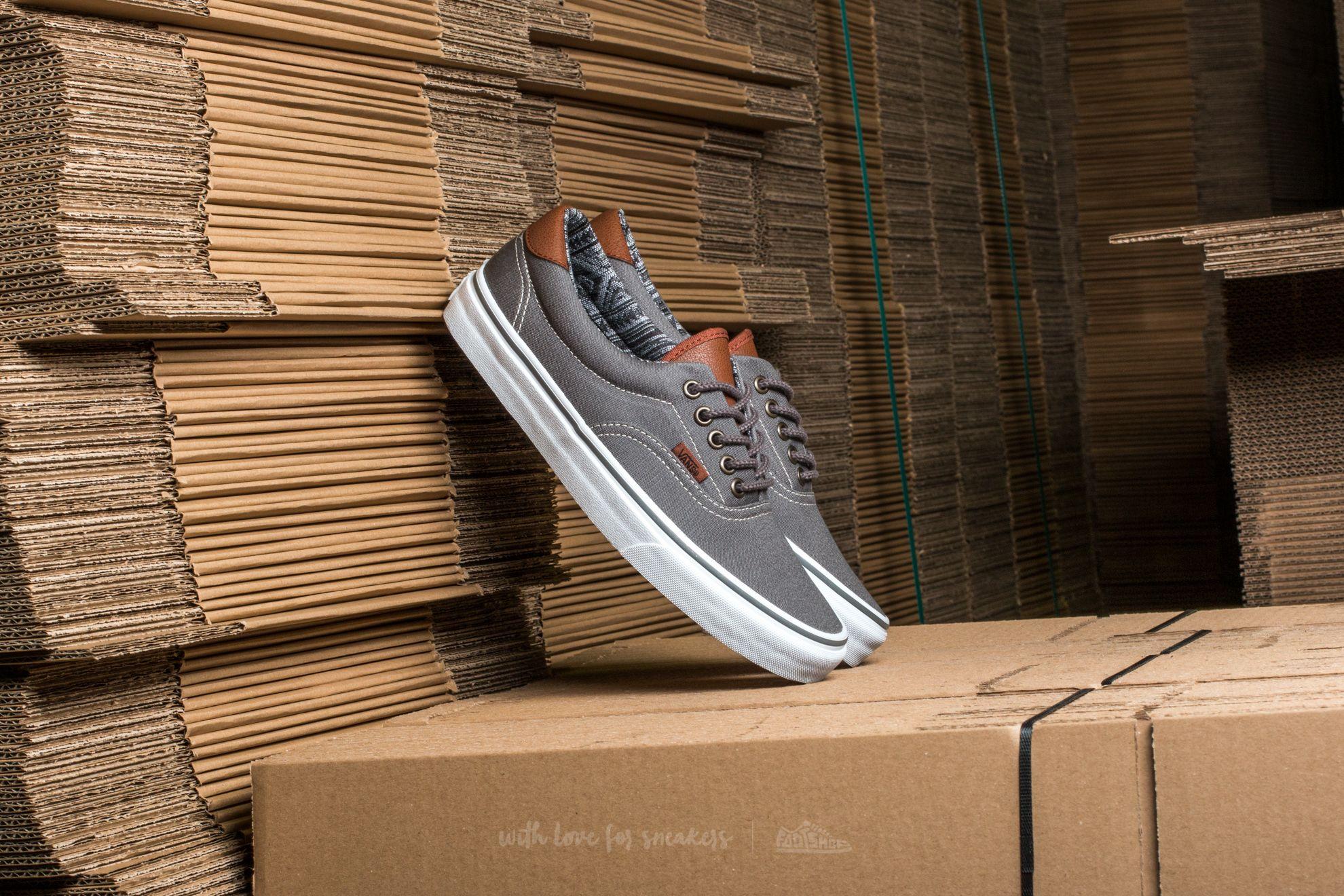 Vans Era 59 (C&L) Pewter/ Italian Weave Footshop – FR