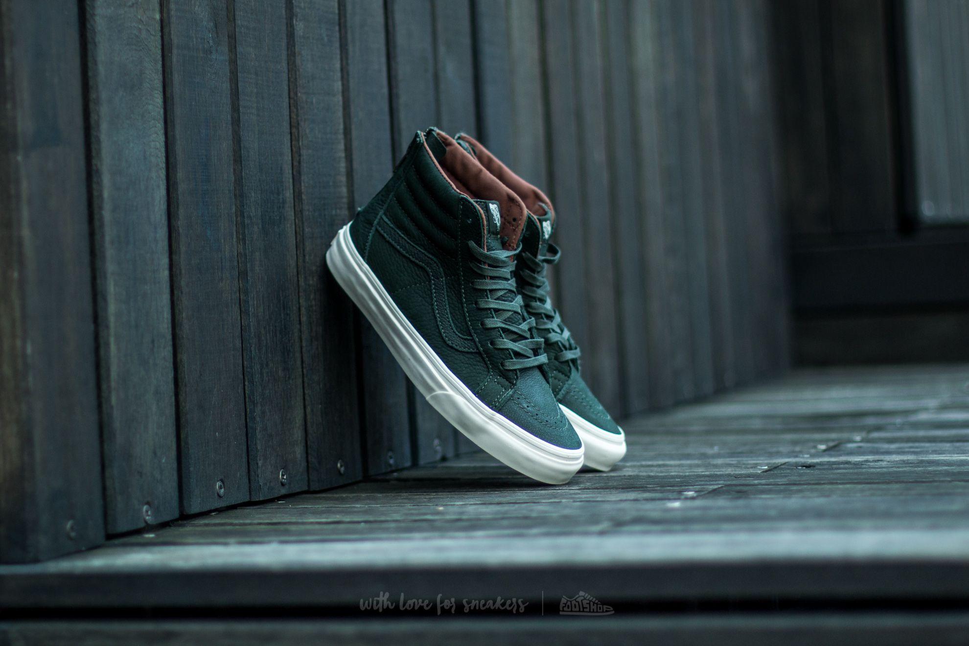 Vans SK8-HI Reissue Zip Premium Leather DufflBag Green Footshop – FR
