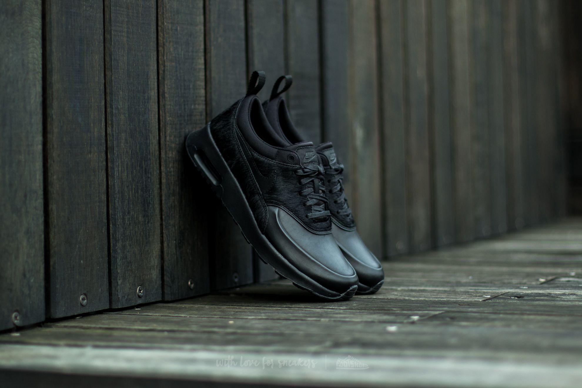 Nike Wmns Air Max Thea Premium Black/ Black-Black