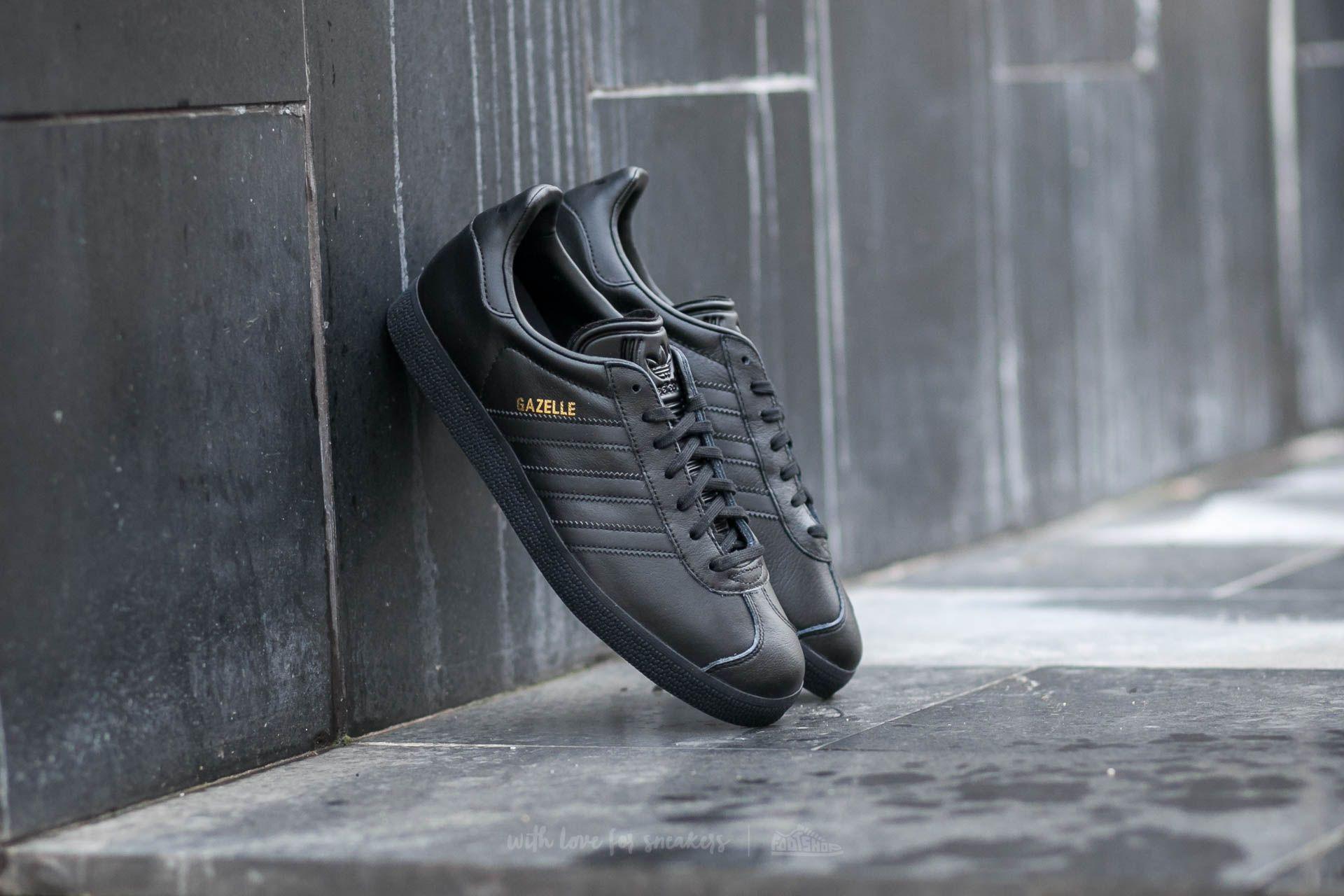 adidas Gazelle Core Black/ Core Black/ Gold Metallic