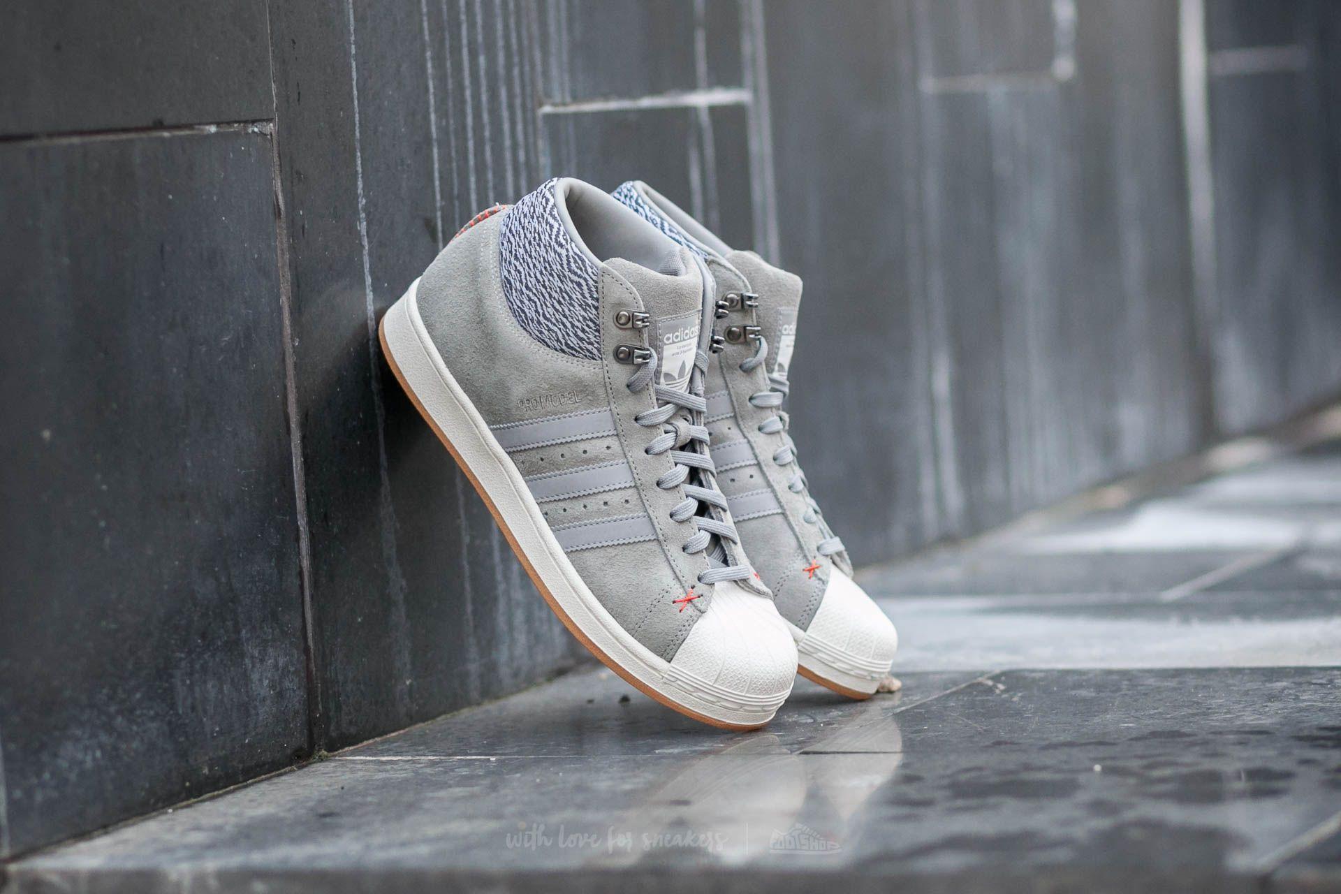 adidas Pro Model BT Ch Solid Grey/Ch Solid Grey/Off White