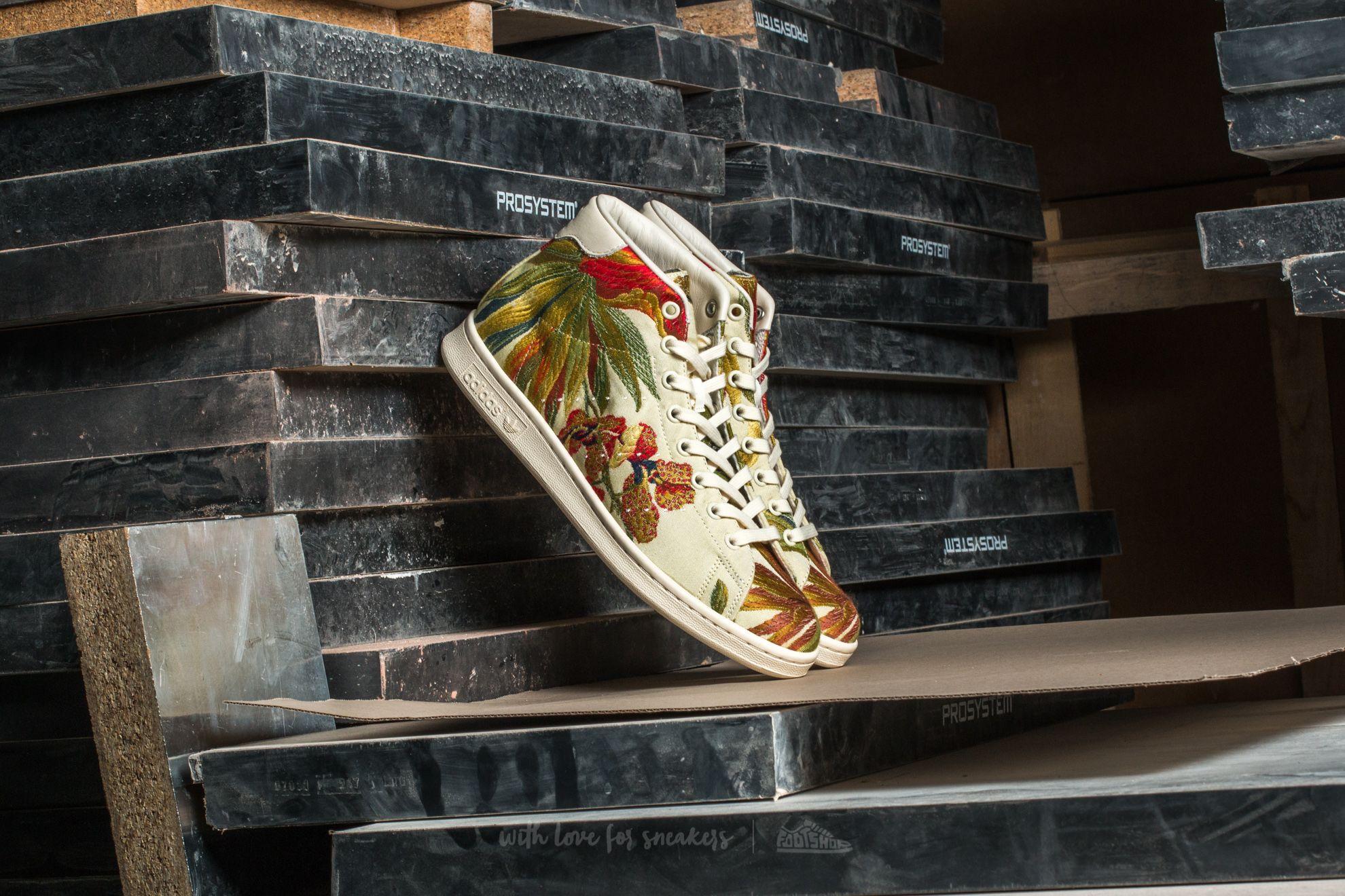 adidas Stan Smith Mid Jacquard Core White/ Core White/ Core White Footshop – FR