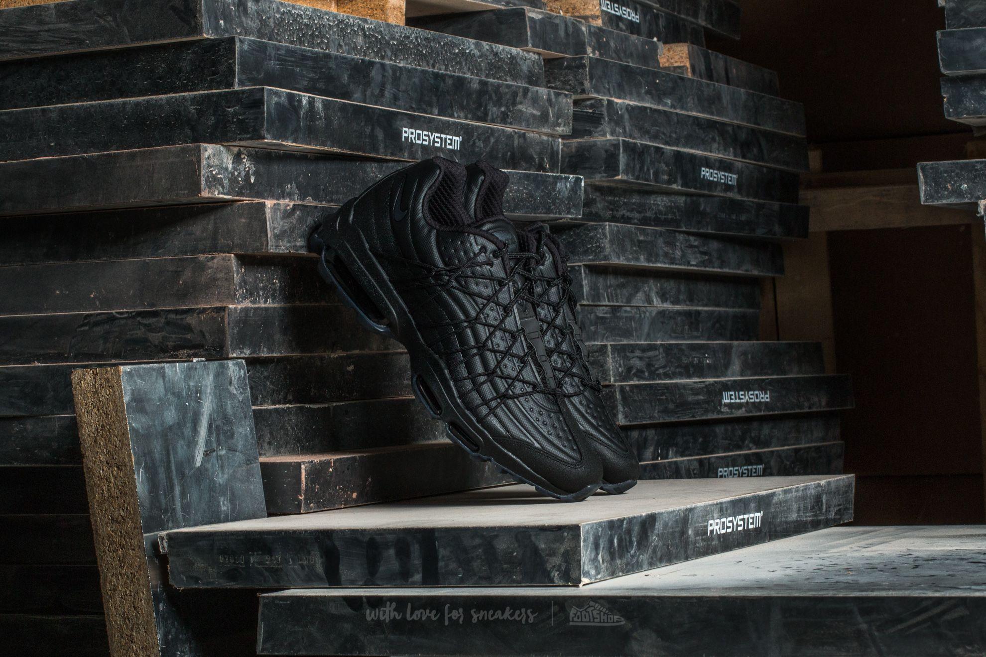 Nike Air Max 95 Ultra SE Premium Black/ Metallic Hematite-Black