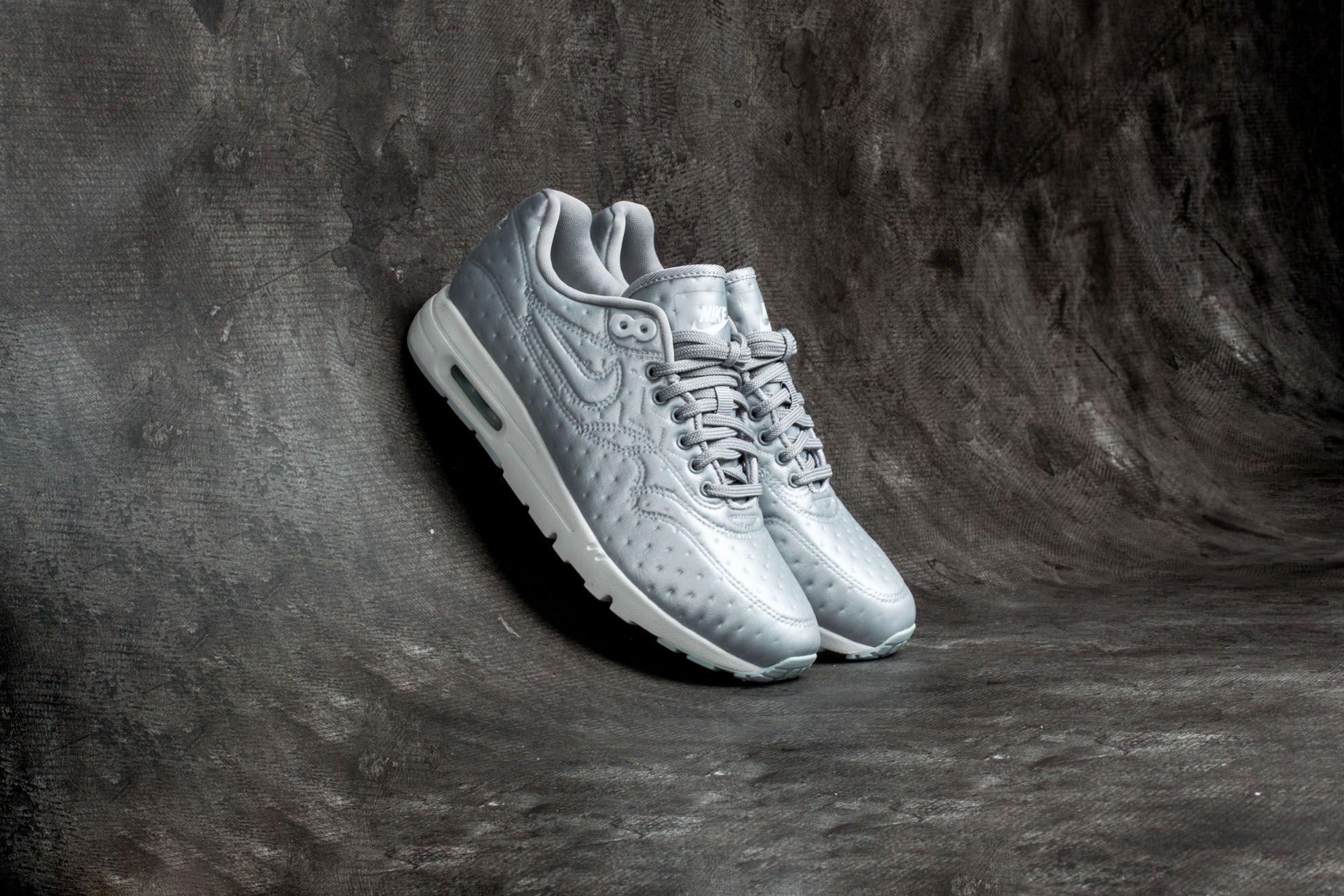 Nike W Air Max 1 Ultra Premium Jacquard Metallic Silver/ Matte Silver