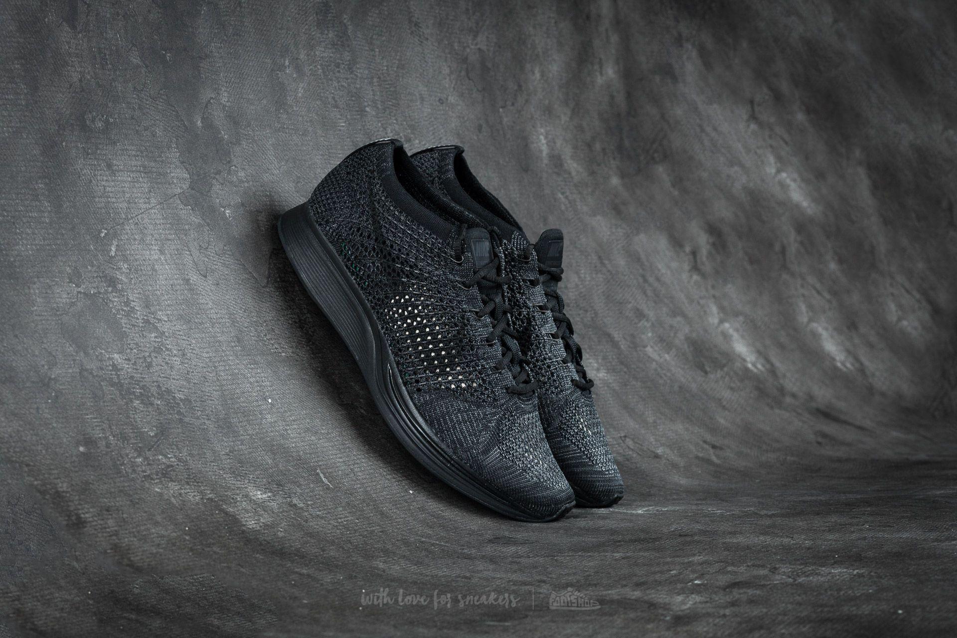 Nike Flyknit Racer Black/ Black-Anthracite