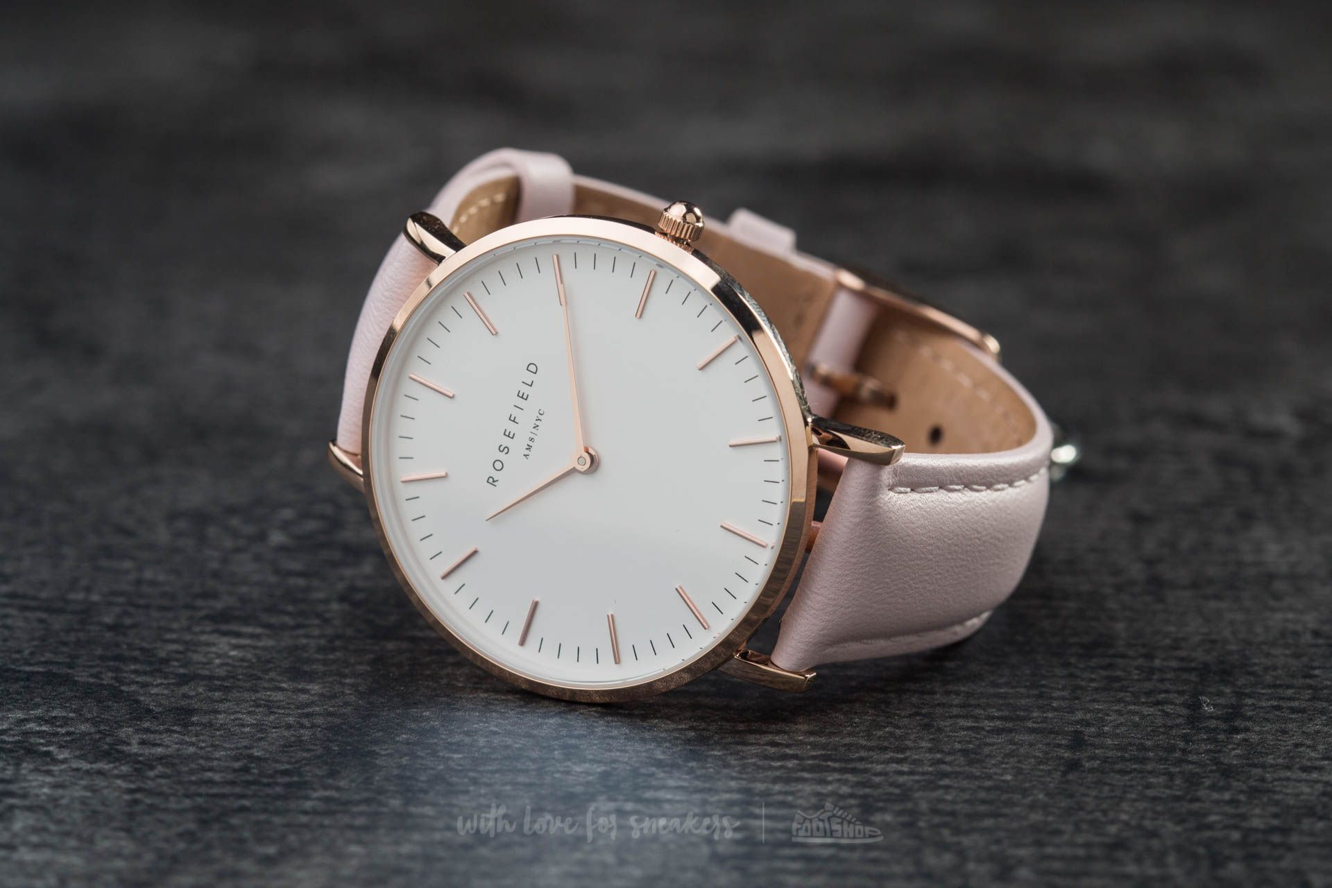Rosefield The Bowery Rosegold White/ Pink