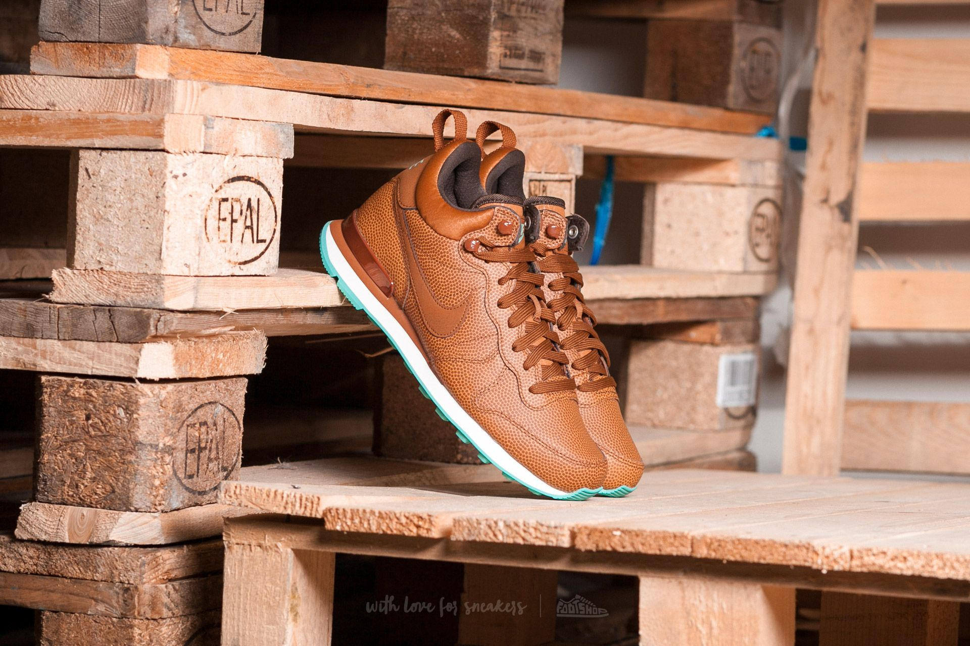 Nike W Internationalist Mid Leather Hazelnut/ Hazelnut-Washed Teal