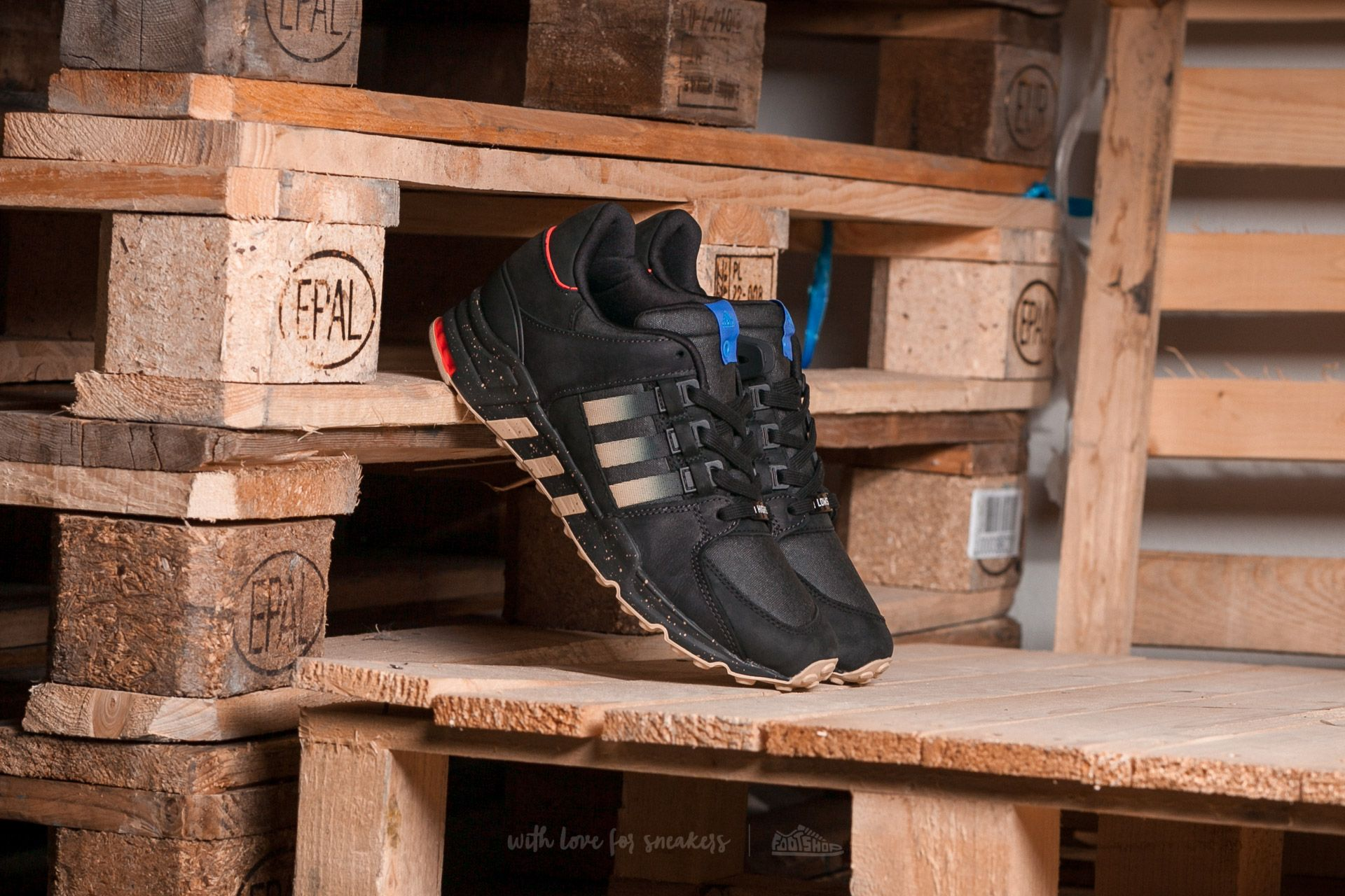 adidas Equipment Running Support Consortium x Highs and Lows Black