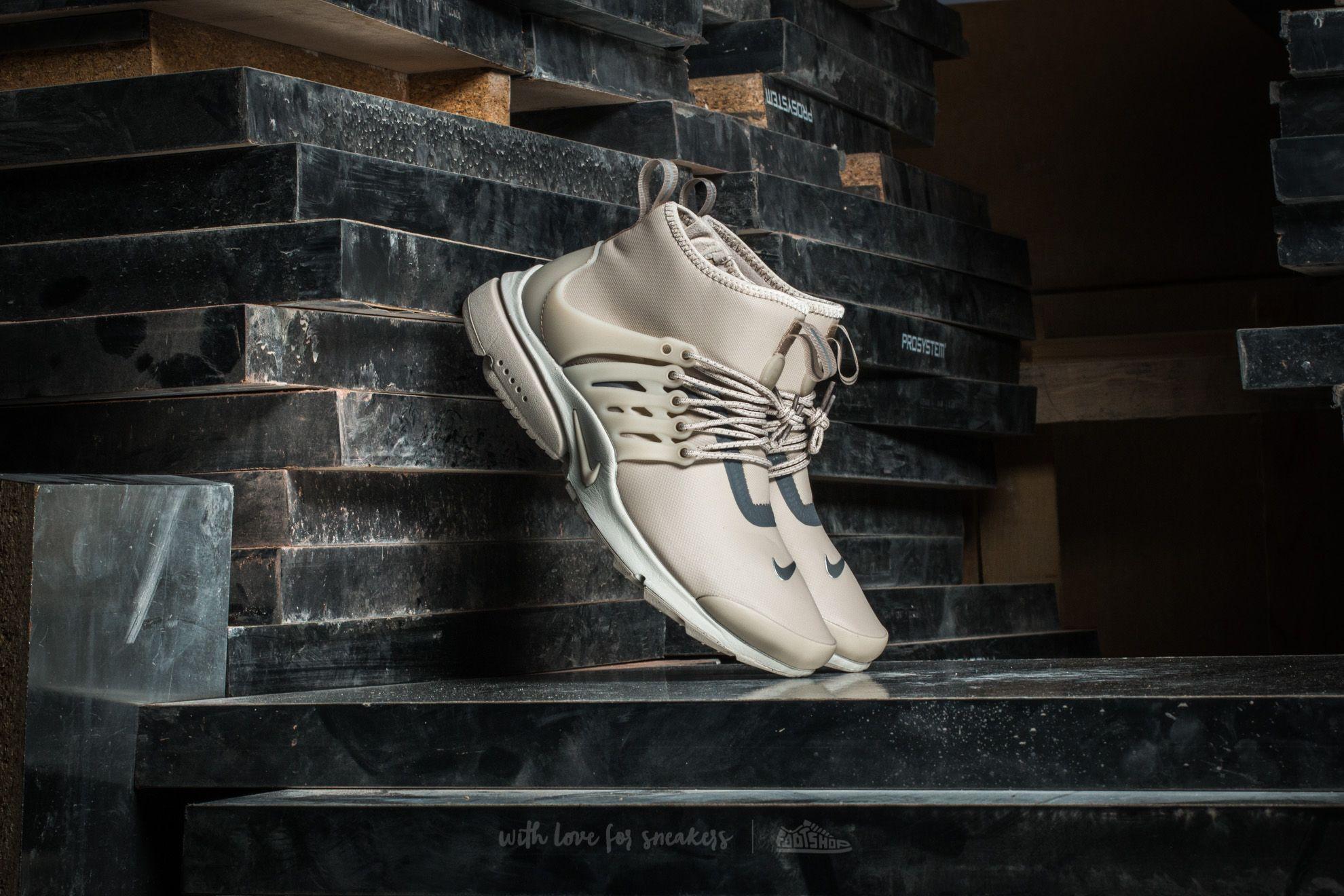 Nike W Air Presto Mid Utility String/ String-Reflect Silver