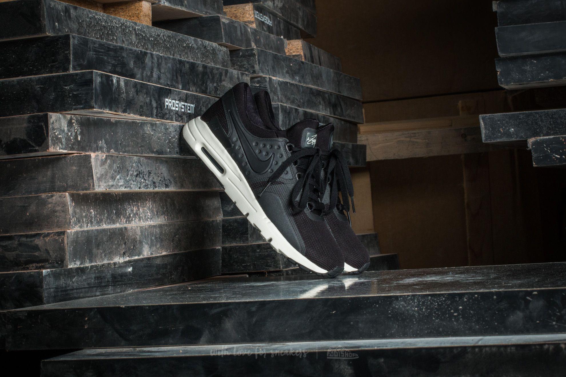 Nike W Air Max Zero Black/ Black-Sail