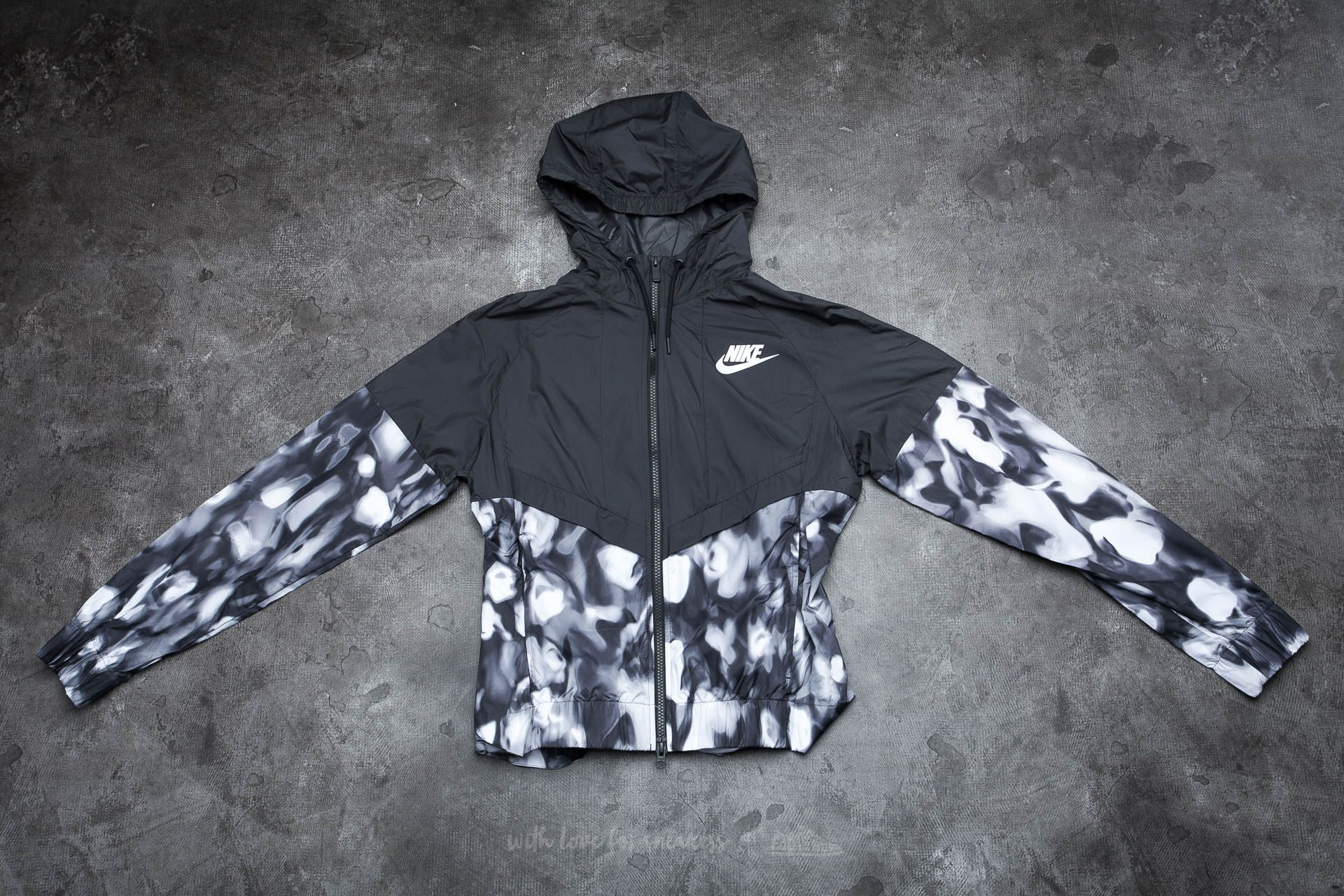 Nike Womens Sportswear Windrunner Charcoal/ White
