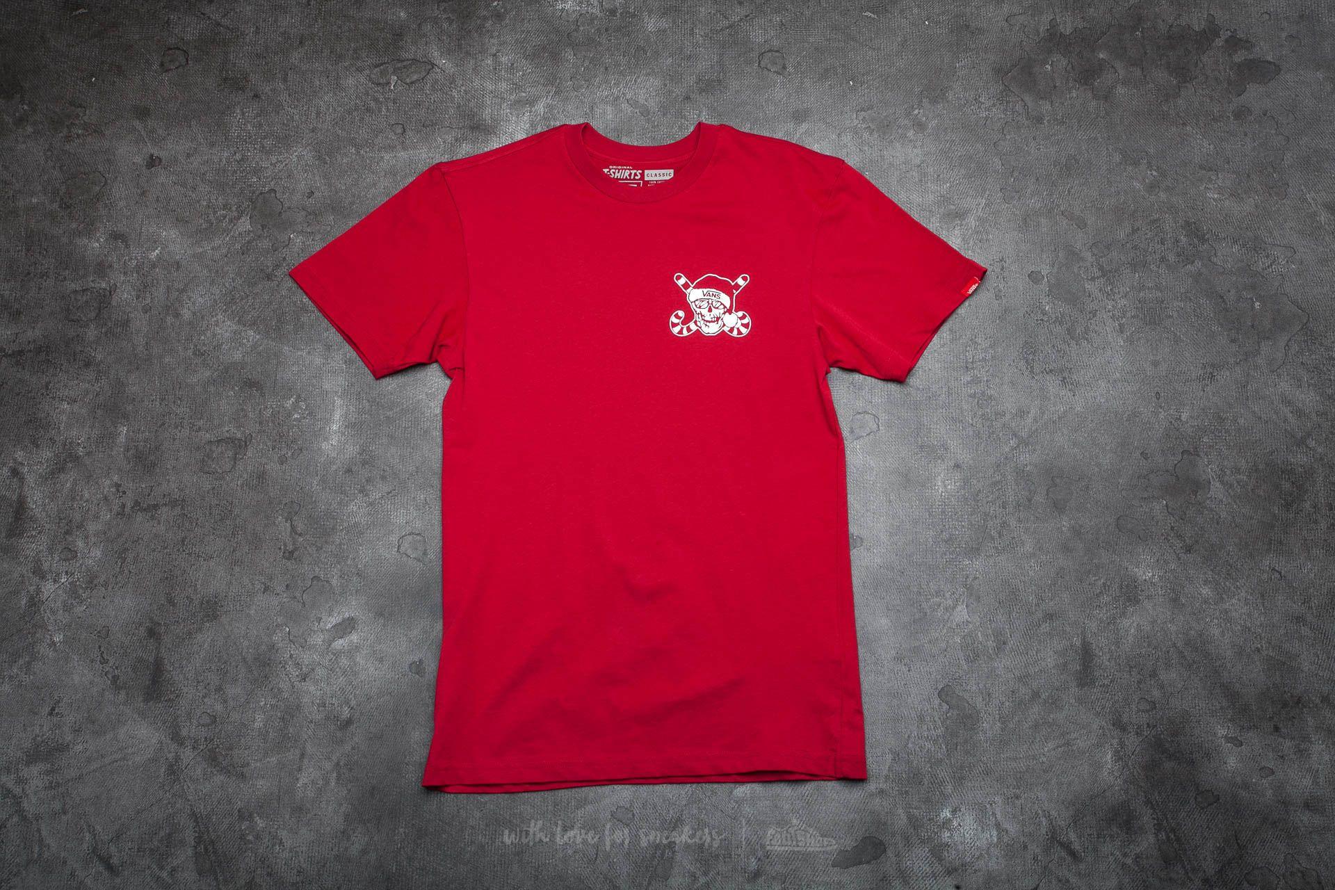 Vans Van Doren Holidaze Tee Cardinal Red