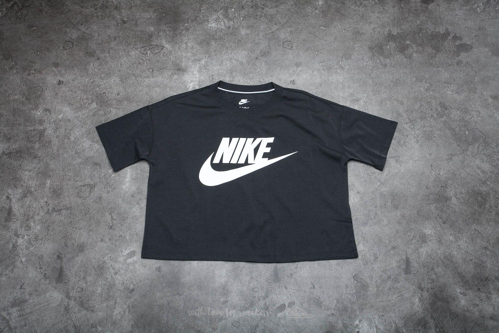 Nike Sportswear Women's Top Black/ White