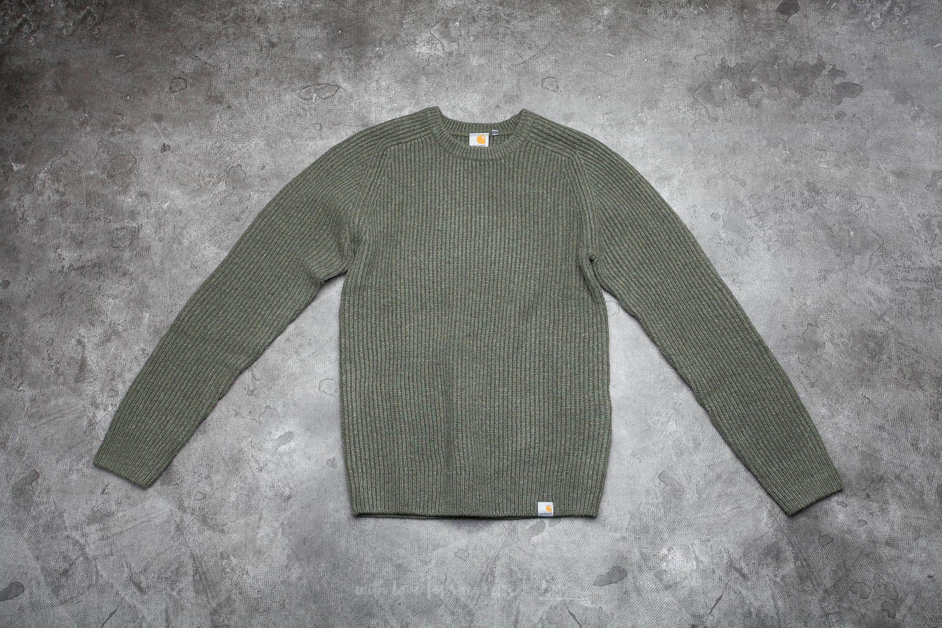 Carhartt WIP Rib Sweater Cypress Heather