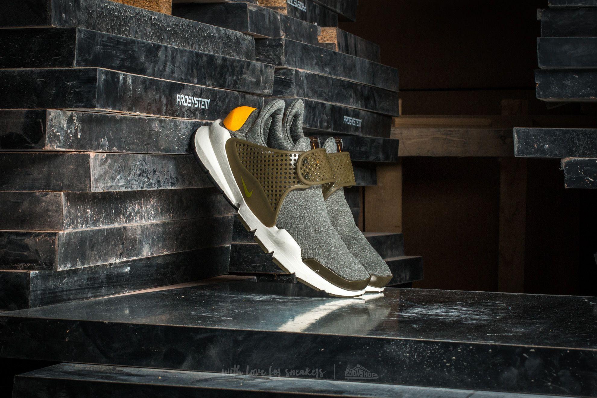 Nike Wmns Sock Dart SE Dark Loden/ Gold Leaf