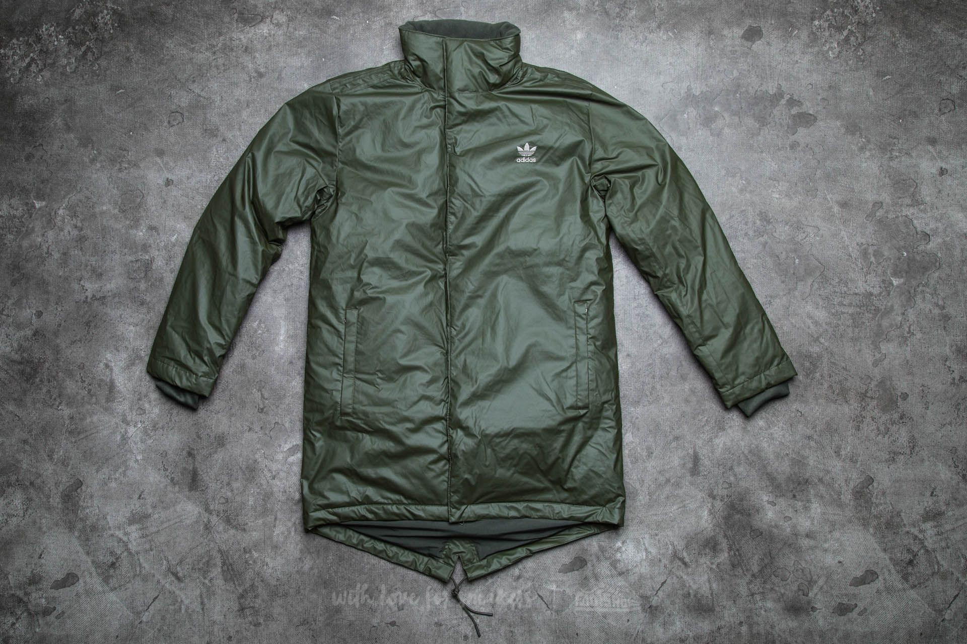 adidas Long Down Parka Night Cargo
