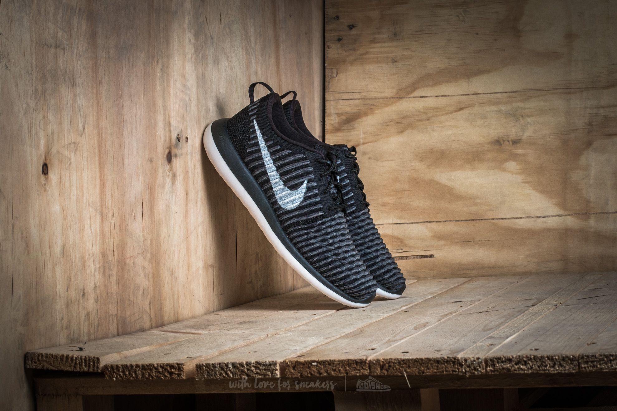 Nike Roshe Two Flyknit (GS) Black/ White-Anthracite-Dark Grey Footshop – FR