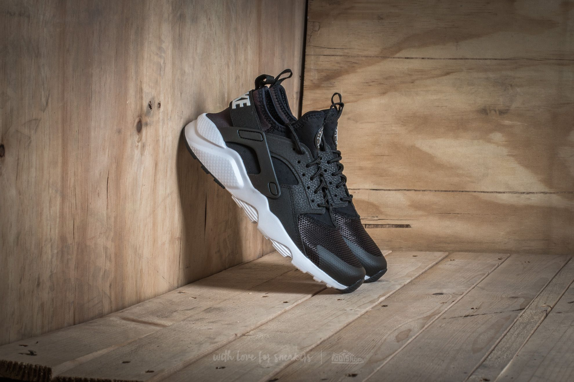 Nike Air Huarache Run Ultra (GS) Black/ White Footshop – FR