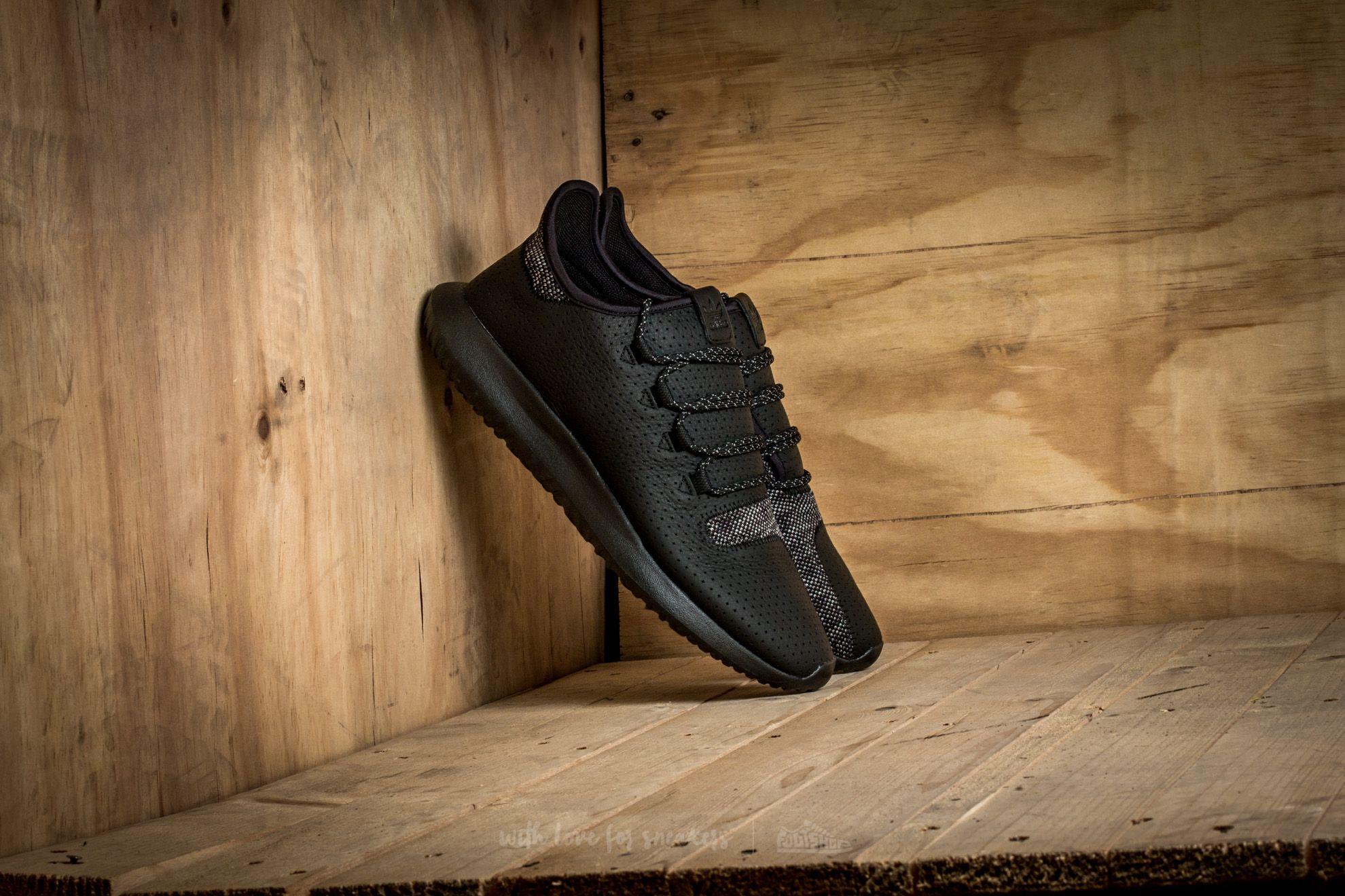 adidas Tubular Shadow Core Black/ Charcoal Solid Grey/ Ftw White
