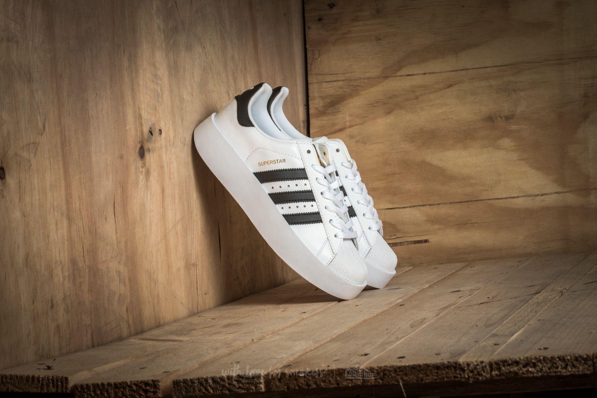 adidas Superstar Bold Platform W Ftw White/ Core Black/ Gold Metallic