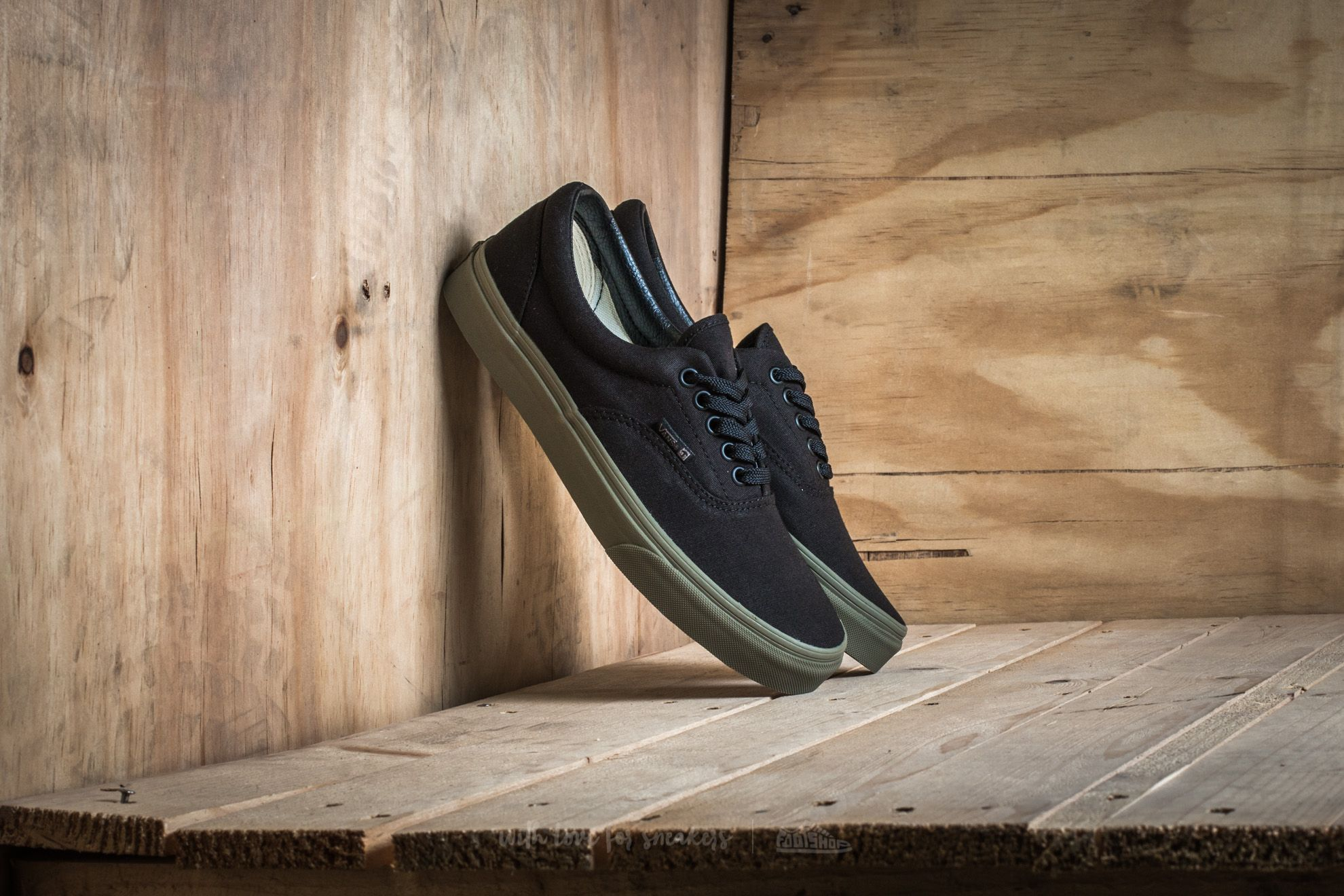 Vans Era (Vansguard) Black/ Ivy Green Footshop – FR