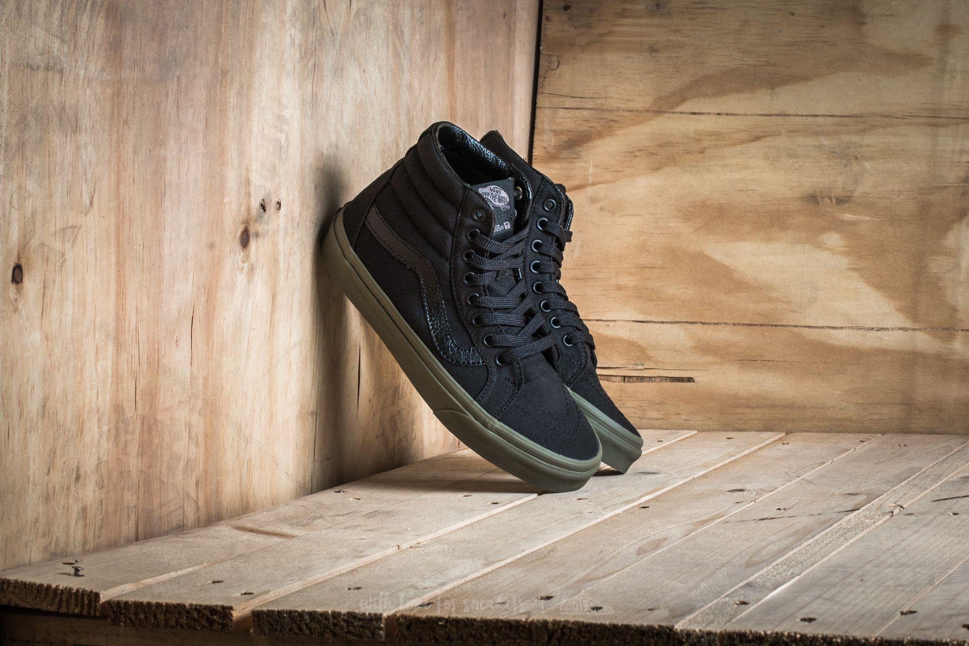 Vans Sk8-Hi Reissue Vansguard Black/ Ivy Green Footshop – FR