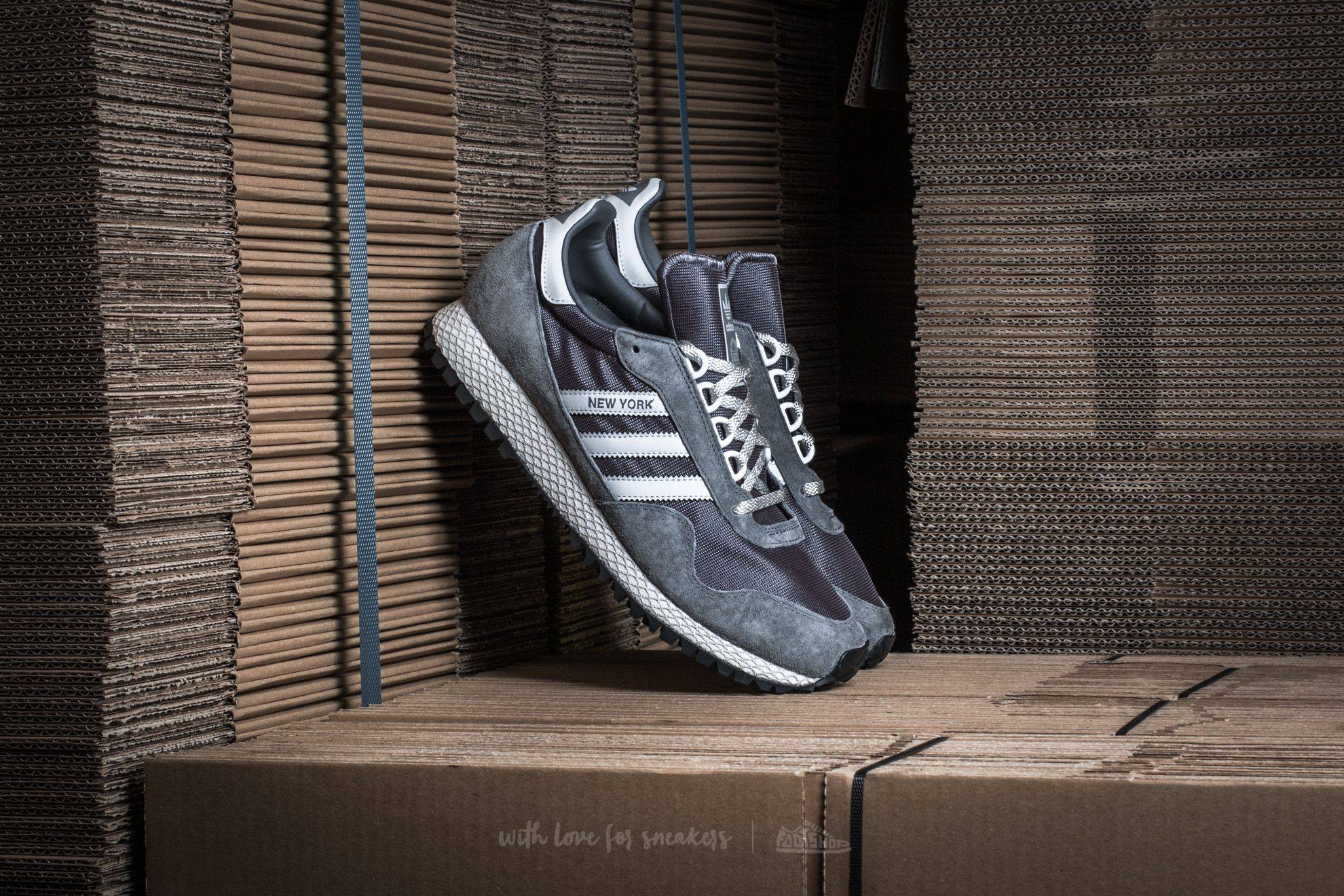 adidas New York Color Granite/ Clear Grey/ Bliss Footshop – FR
