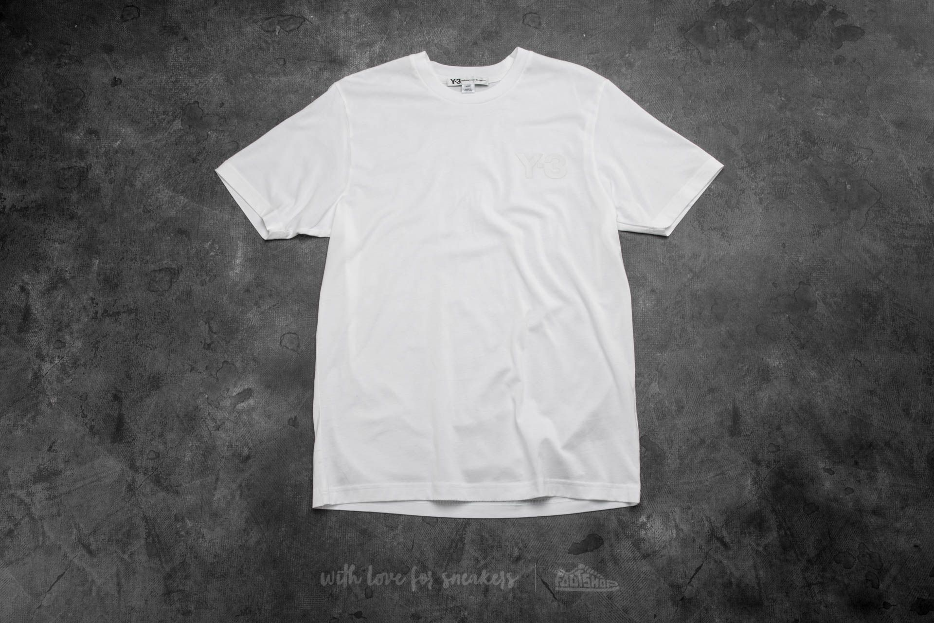 Y-3 Classic Short Sleeve Tee White