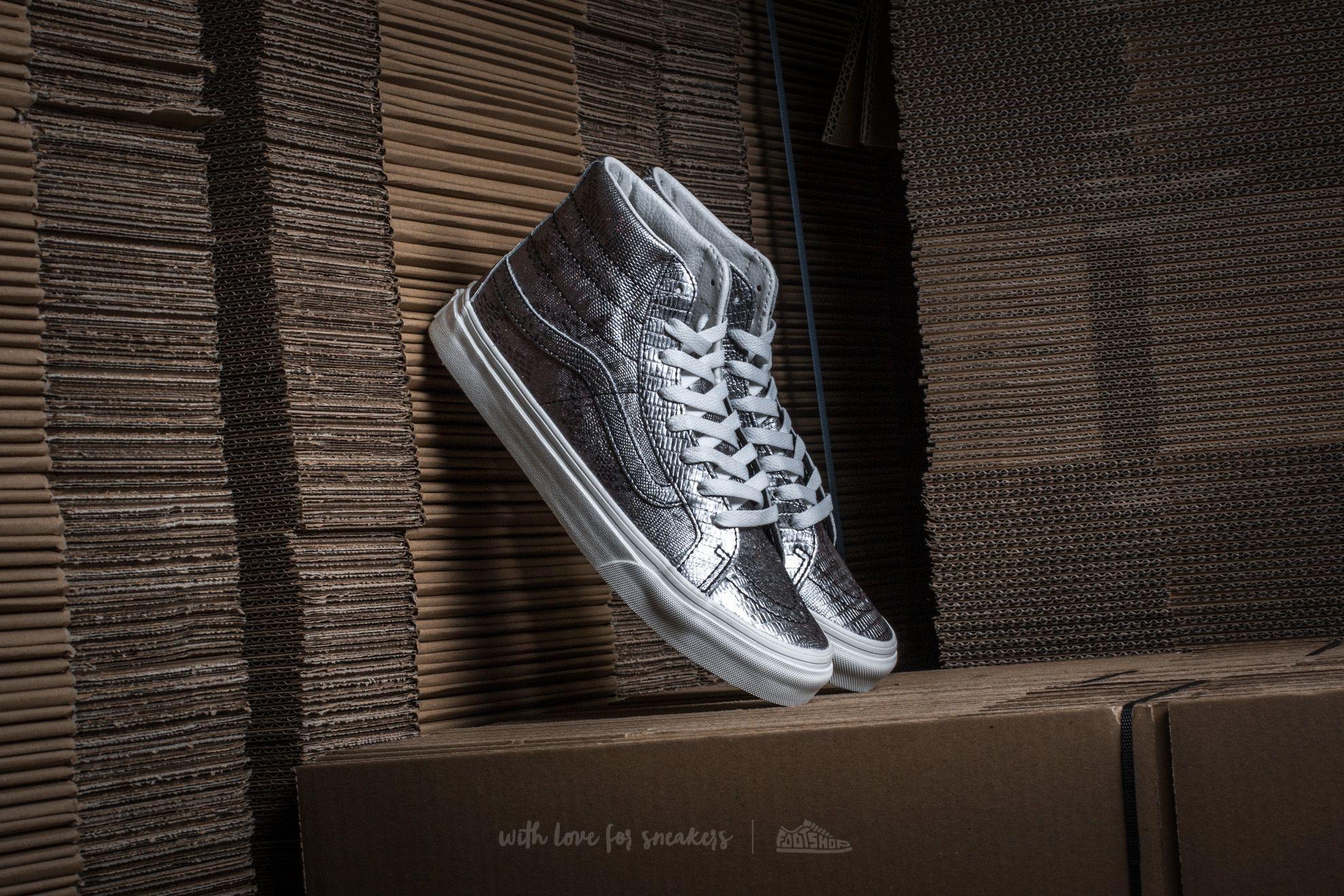 Vans Sk8-Hi Slim (Disco Python) Black/ Blanc De Blanc Footshop – FR