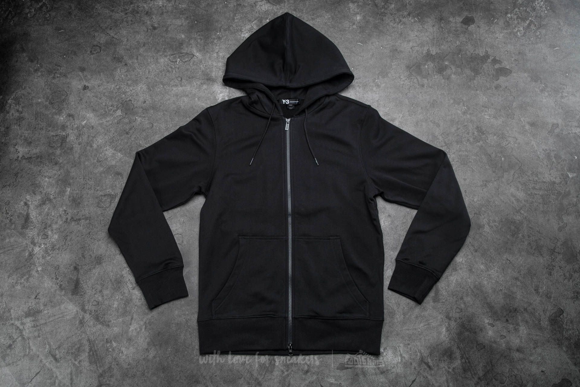 Y-3 Classic Sweat Zip-Up Hoody Black
