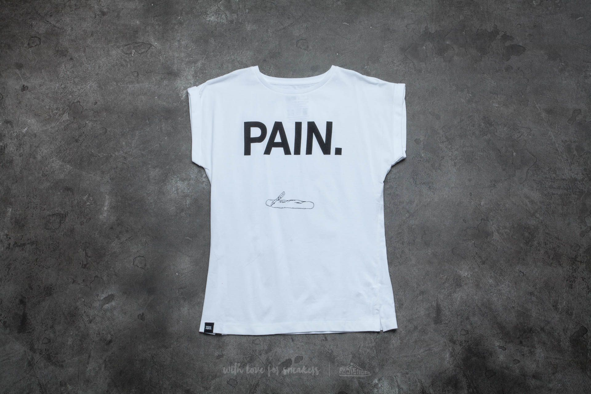 Dedicated Visby Pain T-Shirt White