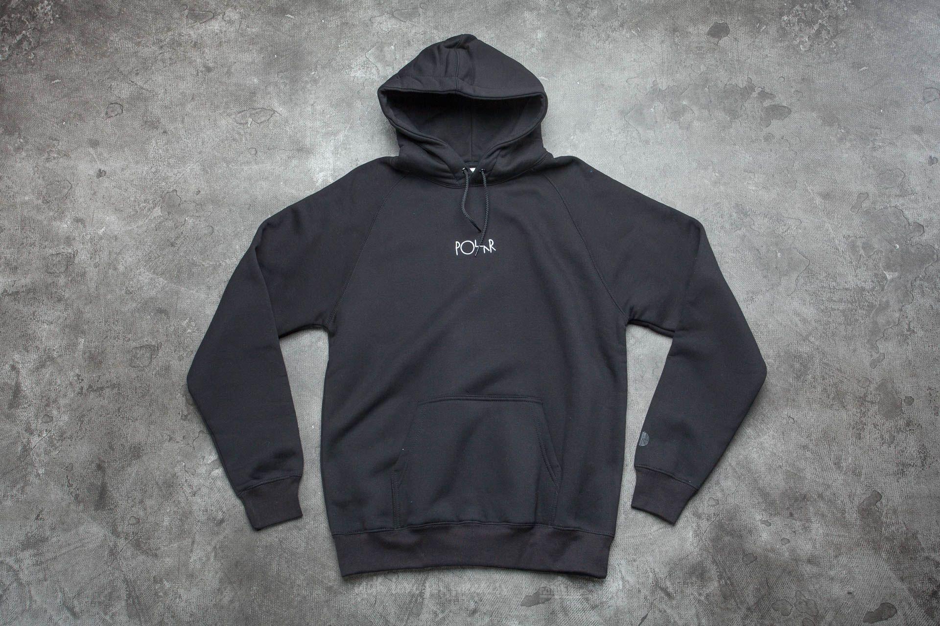 Polar Skate Co. Default Hood Black