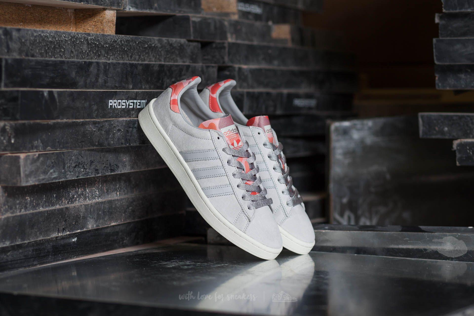adidas Campus Lgh Solid Grey/ Lgh Solid Grey/ Sun Glow