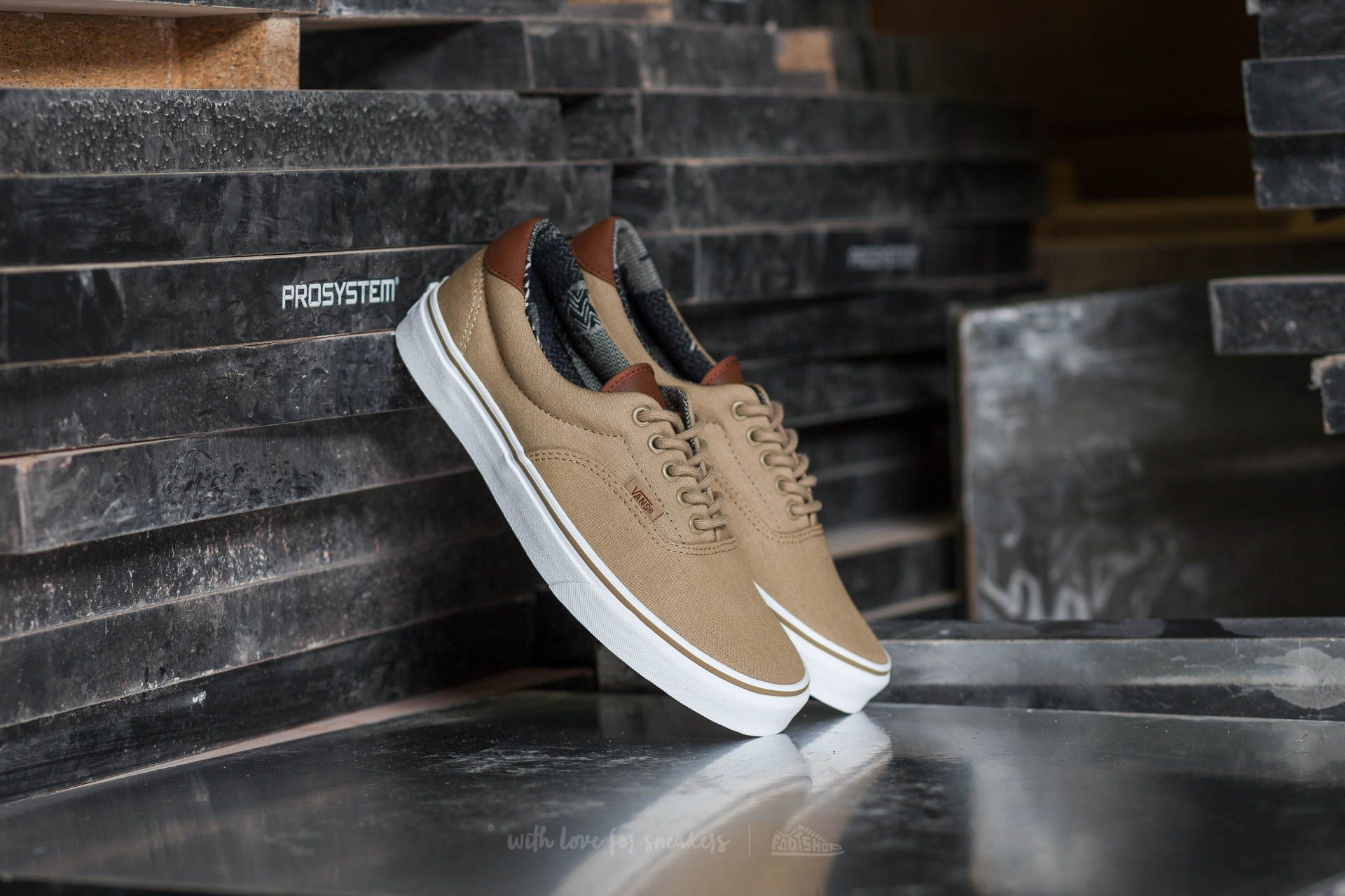 Vans Era 59 (C&L) Khaki/ Material Mix Footshop – FR