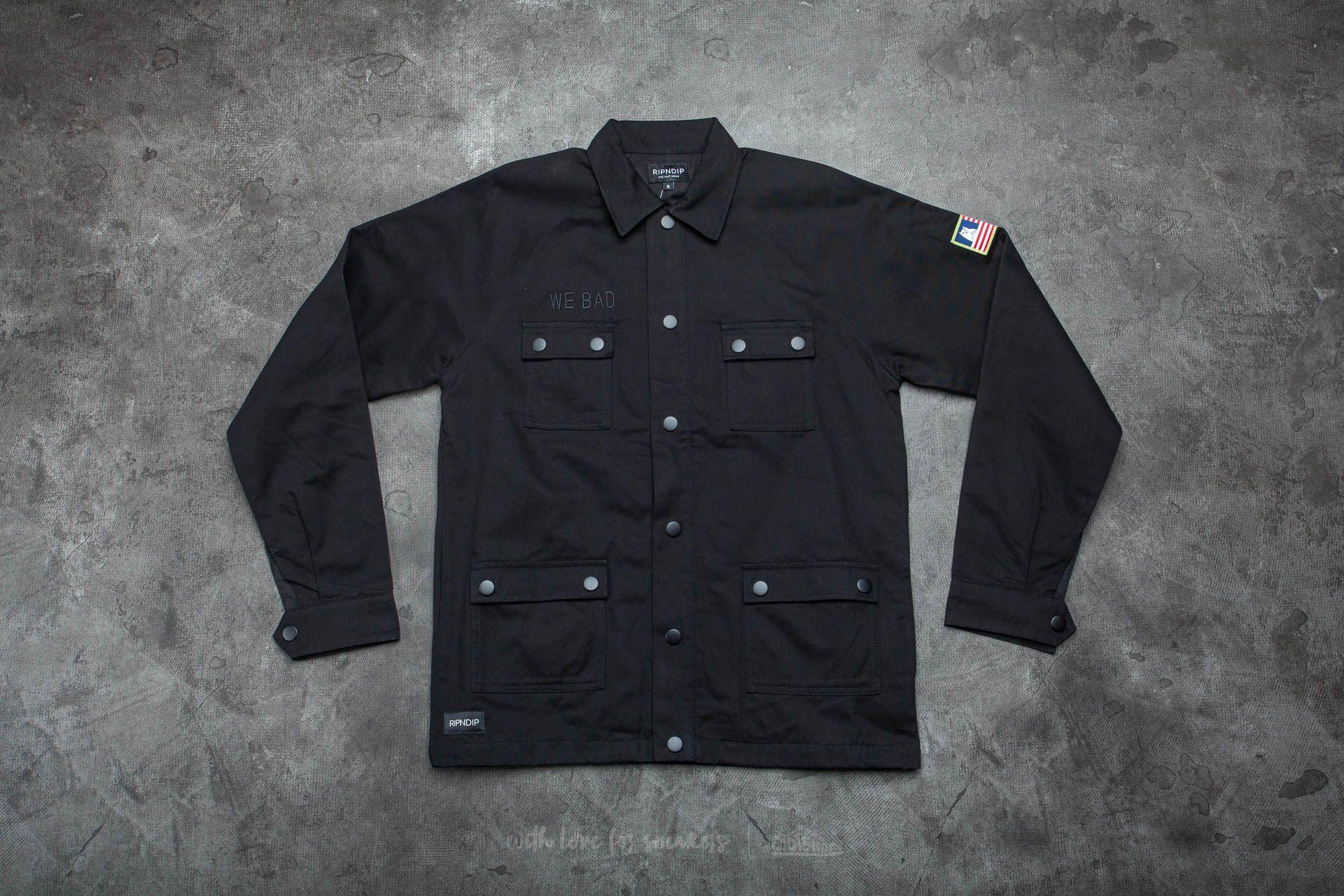 RIPNDIP M69 We Bad Jacket Black