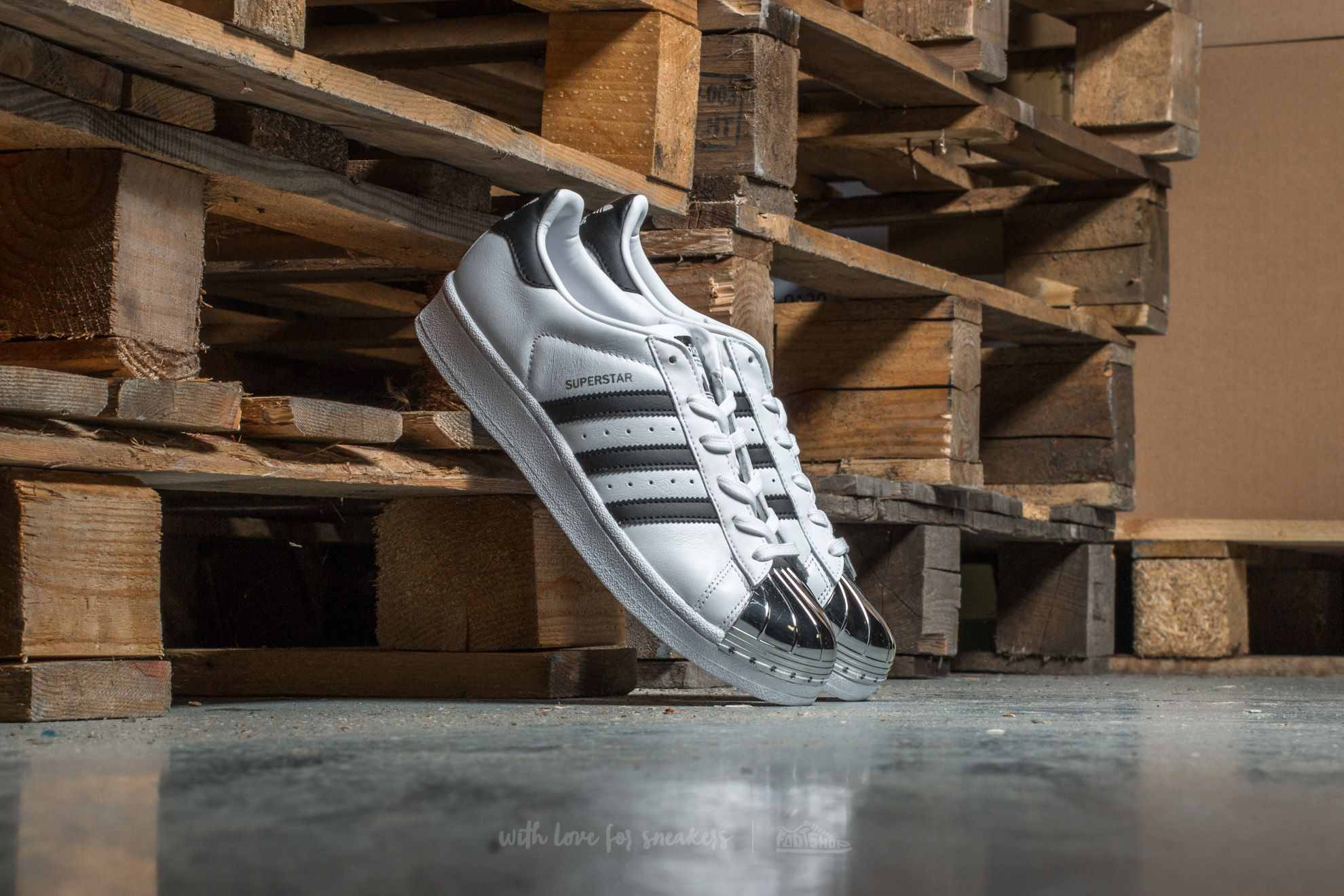 adidas Superstar Metal Toe W Ftw White/ Core Black/ Silver