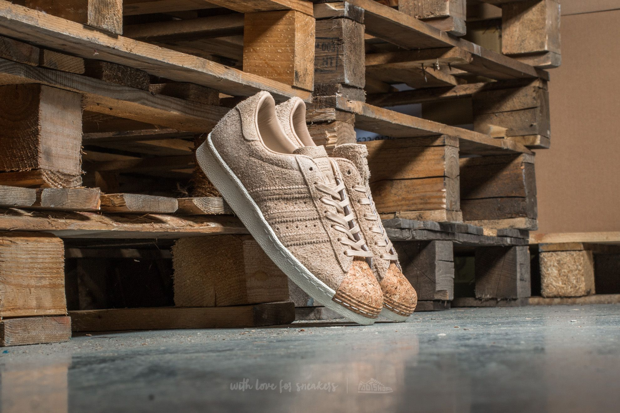 adidas Superstar 80s Cork W Pale Nude/ Pale Nude/ Off White Footshop – FR