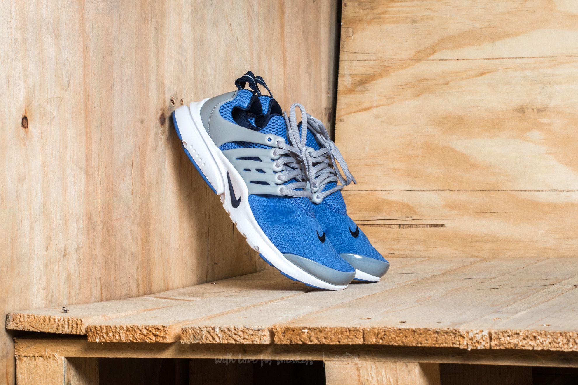 Nike Presto (GS) Comet Blue/ Binary Blue