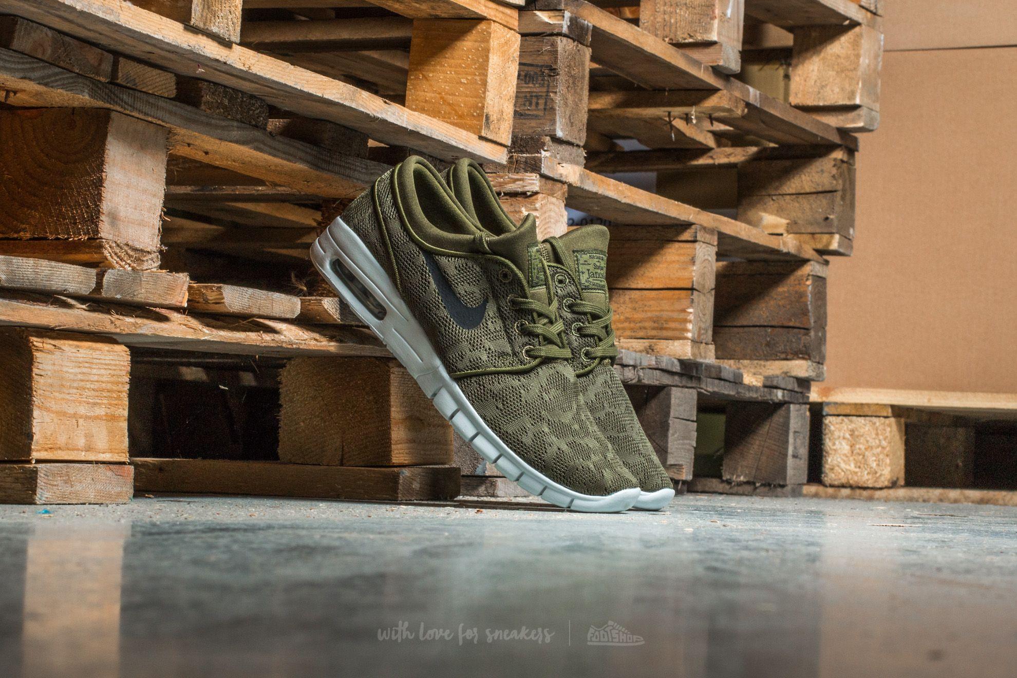 Nike Stefan Janoski Max Legion Green/ Black