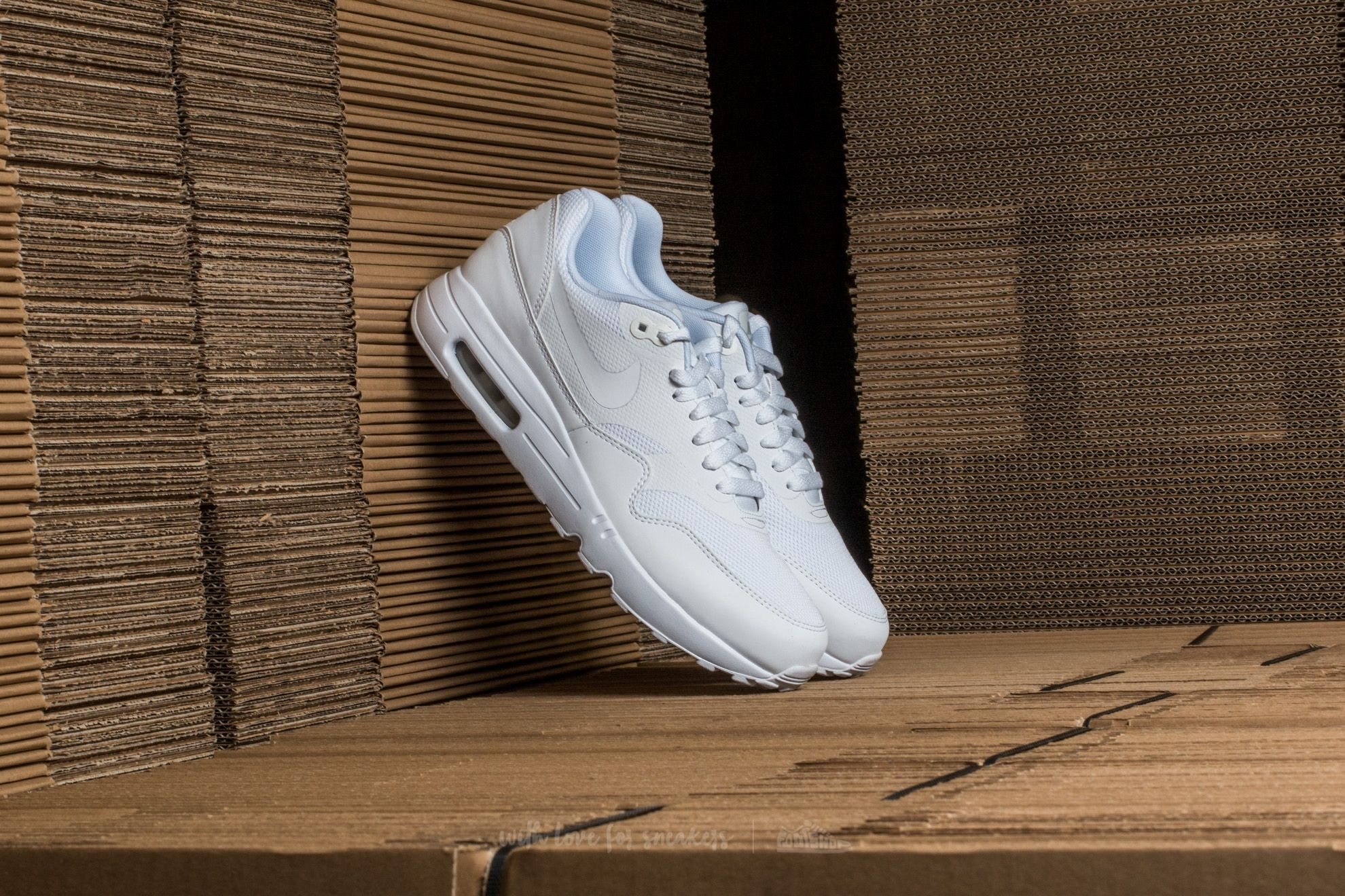Nike Air Max 1 Ultra 2.0 Essential White/ White-Pure Platinum Footshop – FR