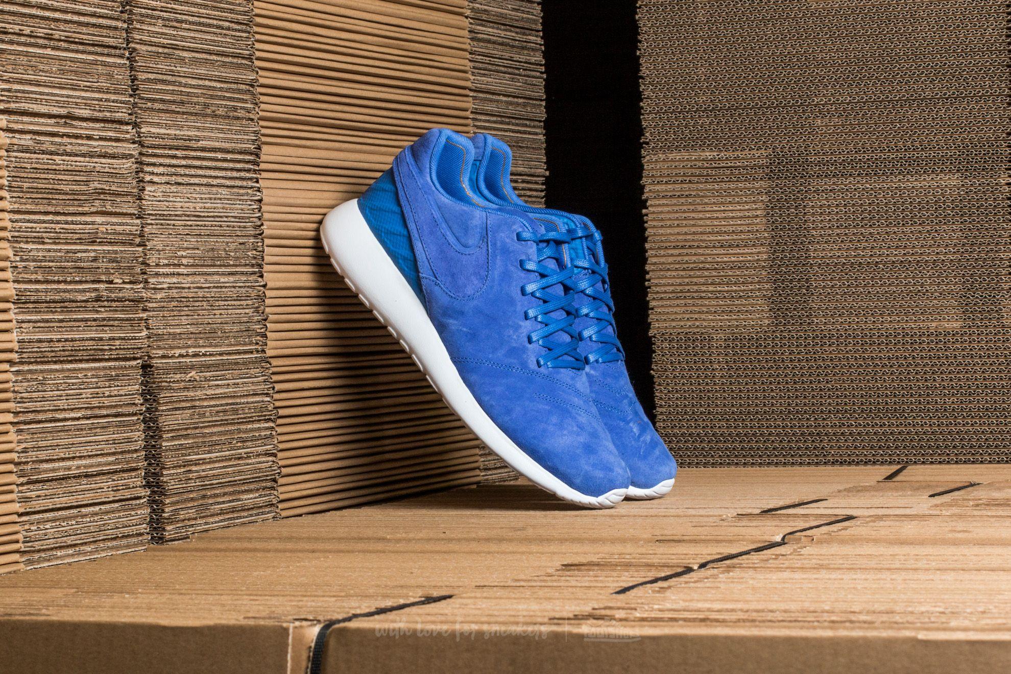 Nike Roshe Tiempo VI Comet Blue/ Comet Blue-White