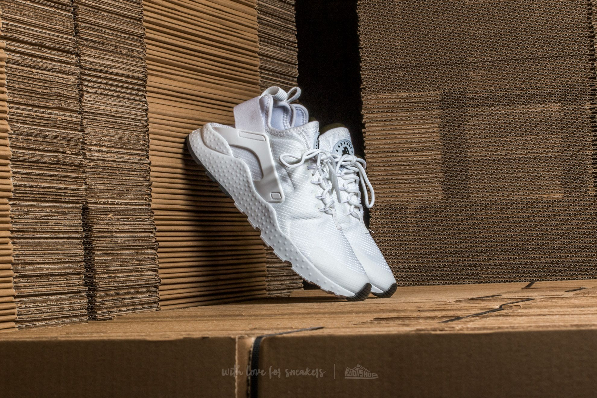 Nike W Air Huarache Run Ultra White/ White-White-Black Footshop – FR