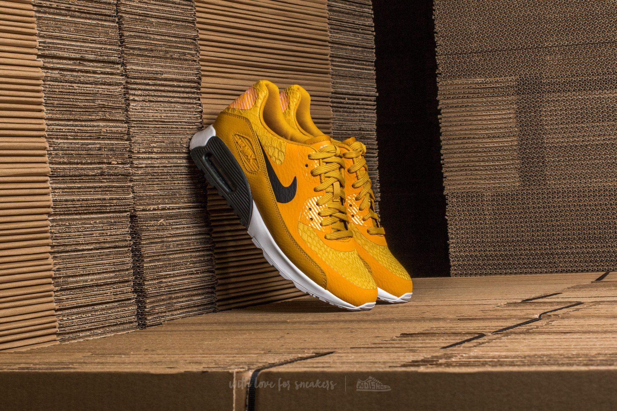 Nike W Air Max 90 Ultra 2.0 Gold Dart/ Black-White