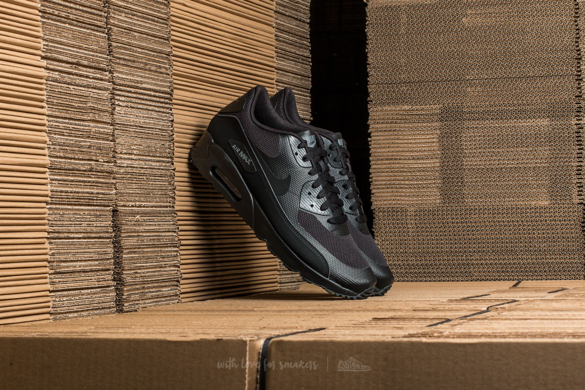 Nike Air Max 90 Ultra 2.0 Essential Black/ Black-Black-Dark Grey Footshop – FR