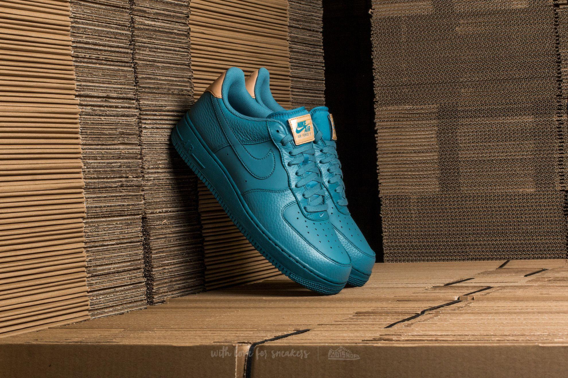 Nike Air Force 1 '07 LV8 Smokey Blue/ Smokey Blue