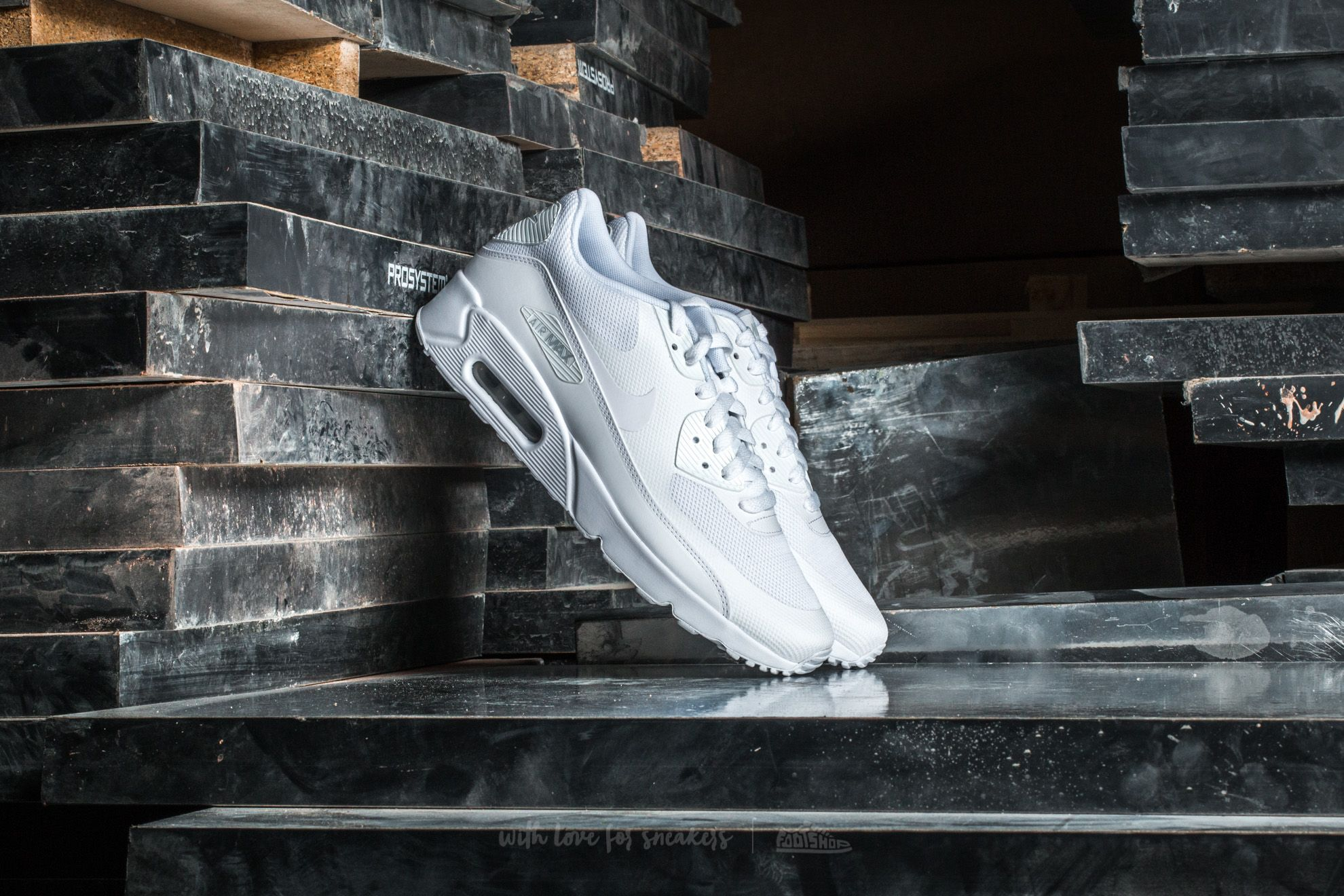 Nike Air Max 90 Ultra 2.0 Essential White/ White-White Footshop – FR
