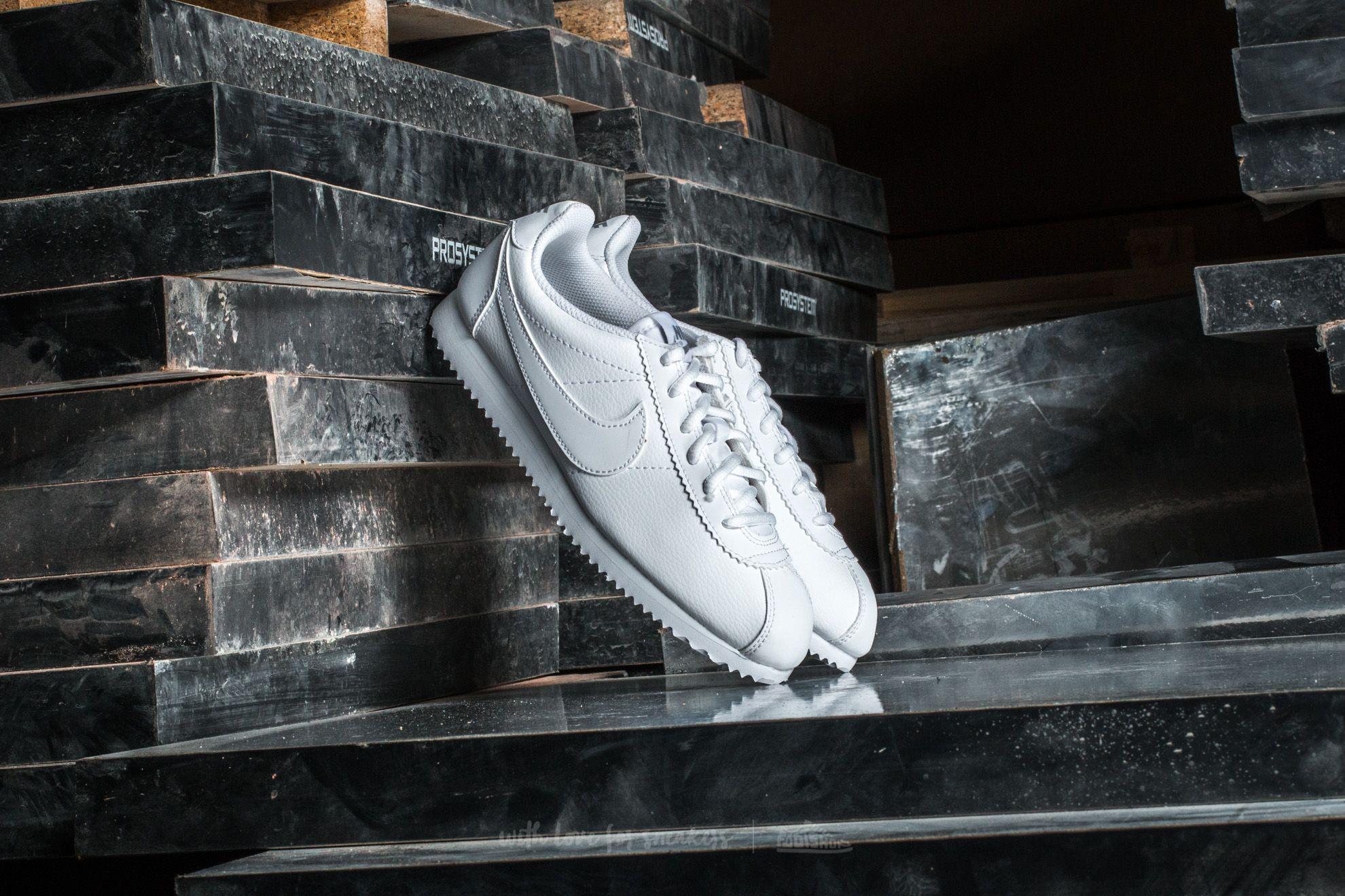 Nike Cortez (GS) White/ White-Wolf Grey