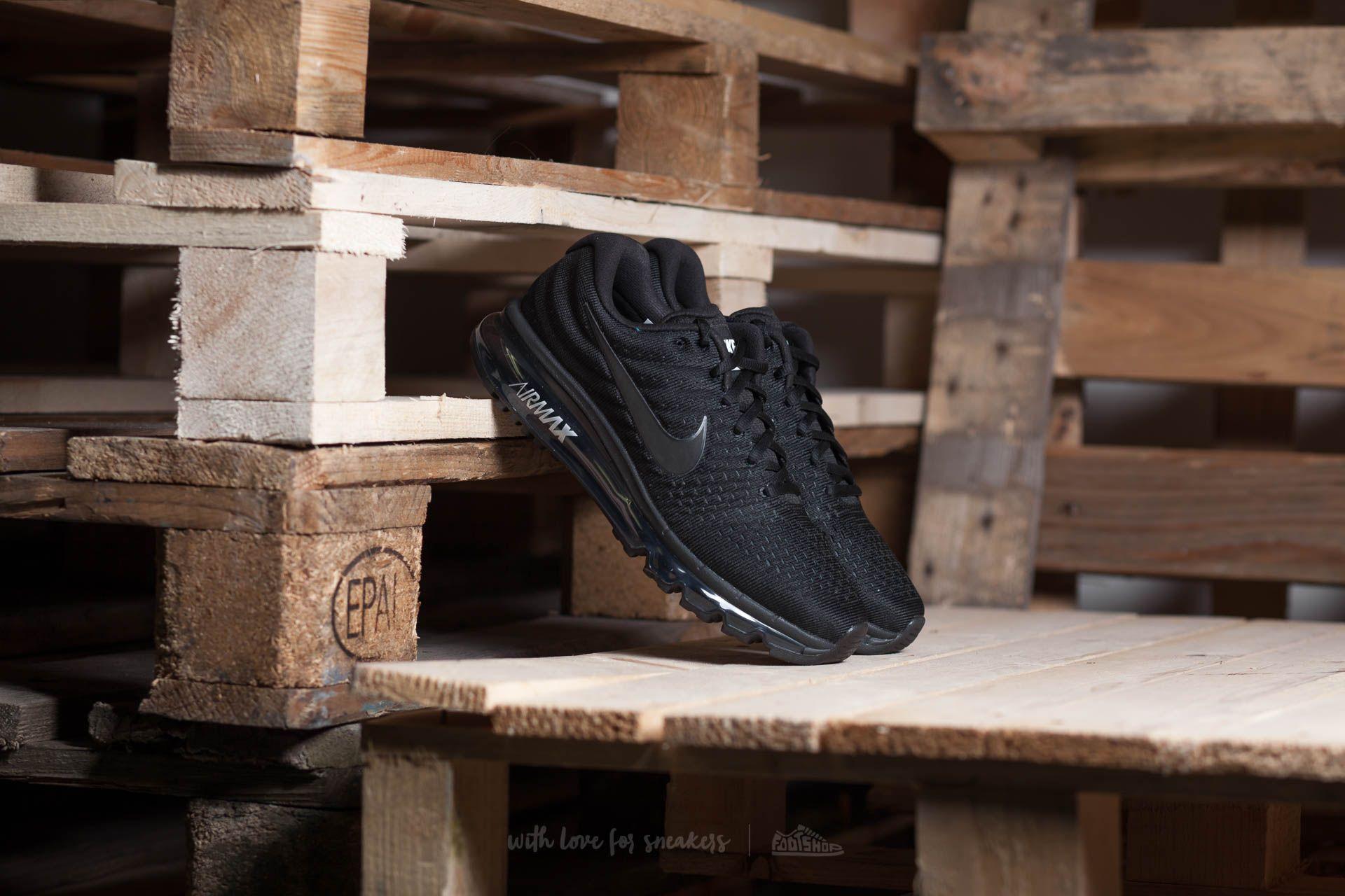 Nike Air Max 2017 Black/ Black-Black